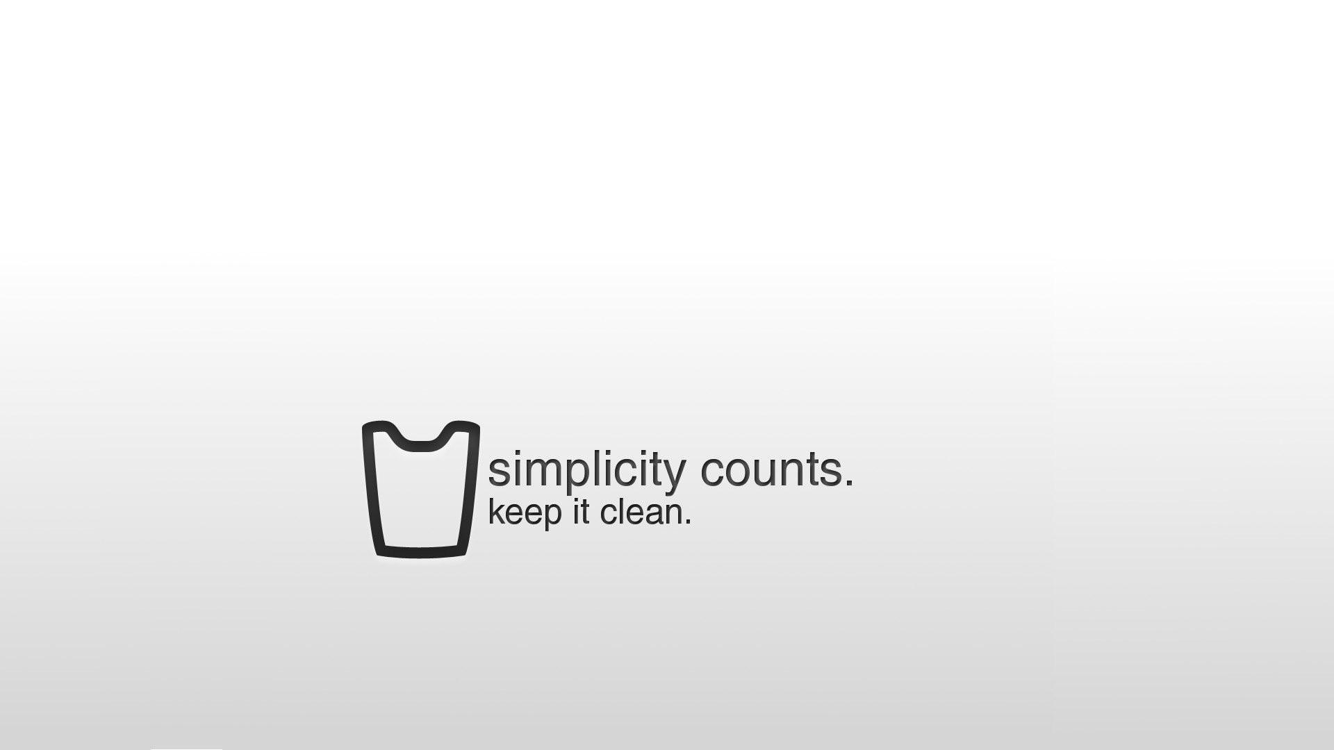 65 minimalist 4k