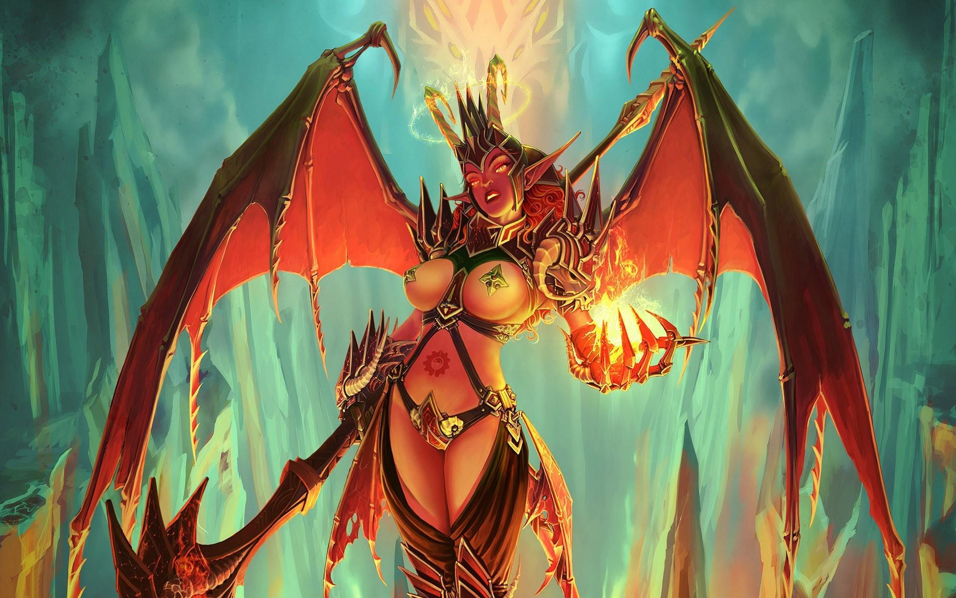 Female Demon Wallpaper