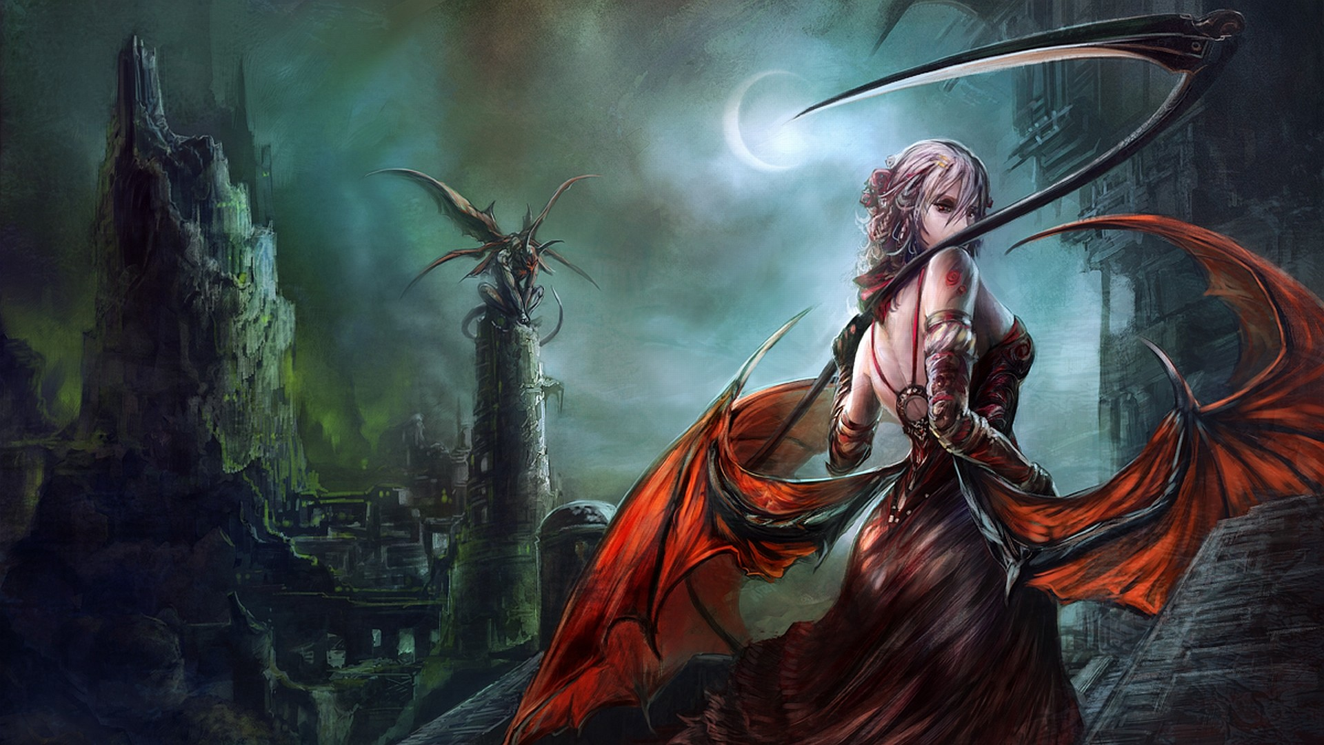 Big Dark Female Warrior Art | Alpha Coders | Wallpaper Abyss Fantasy Women  Warrior 169072