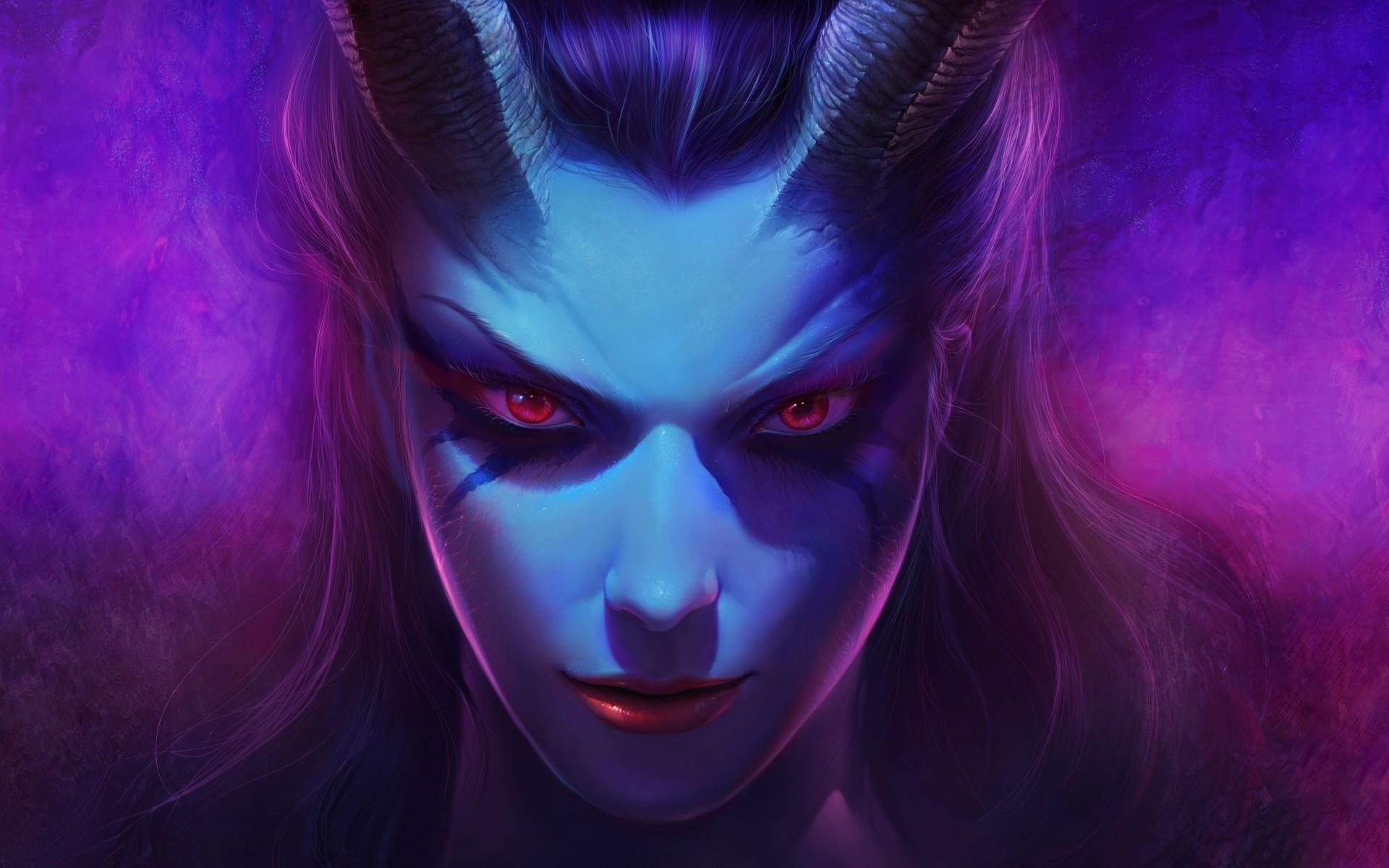 Female Demon Wallpaper 12480