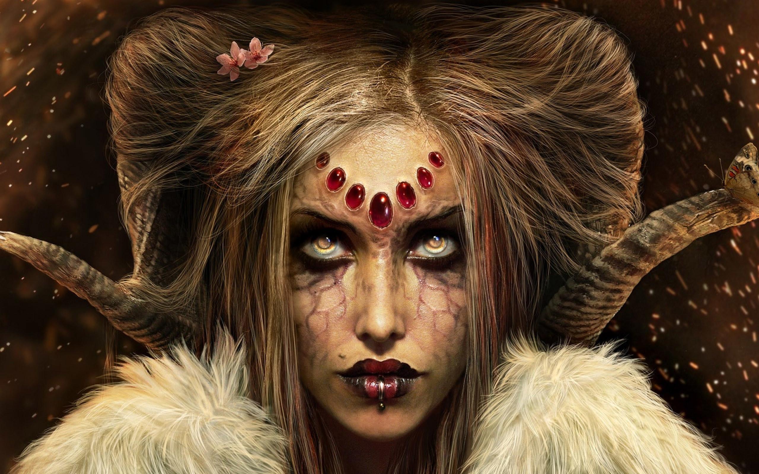 … Female demon HD Wallpaper 2560×1600