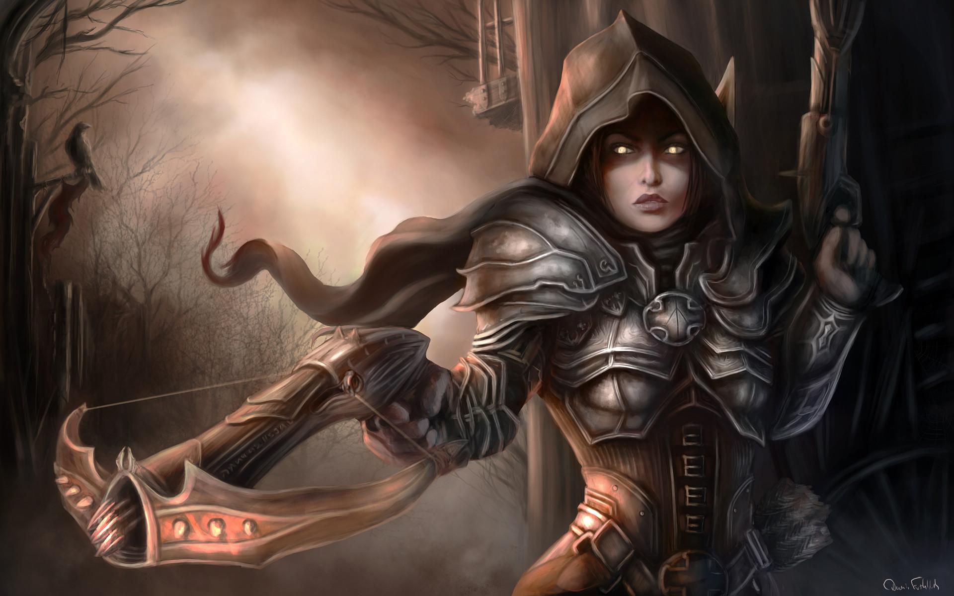 Demon Hunter Character Diablo Reaper of Souls Wallpaper