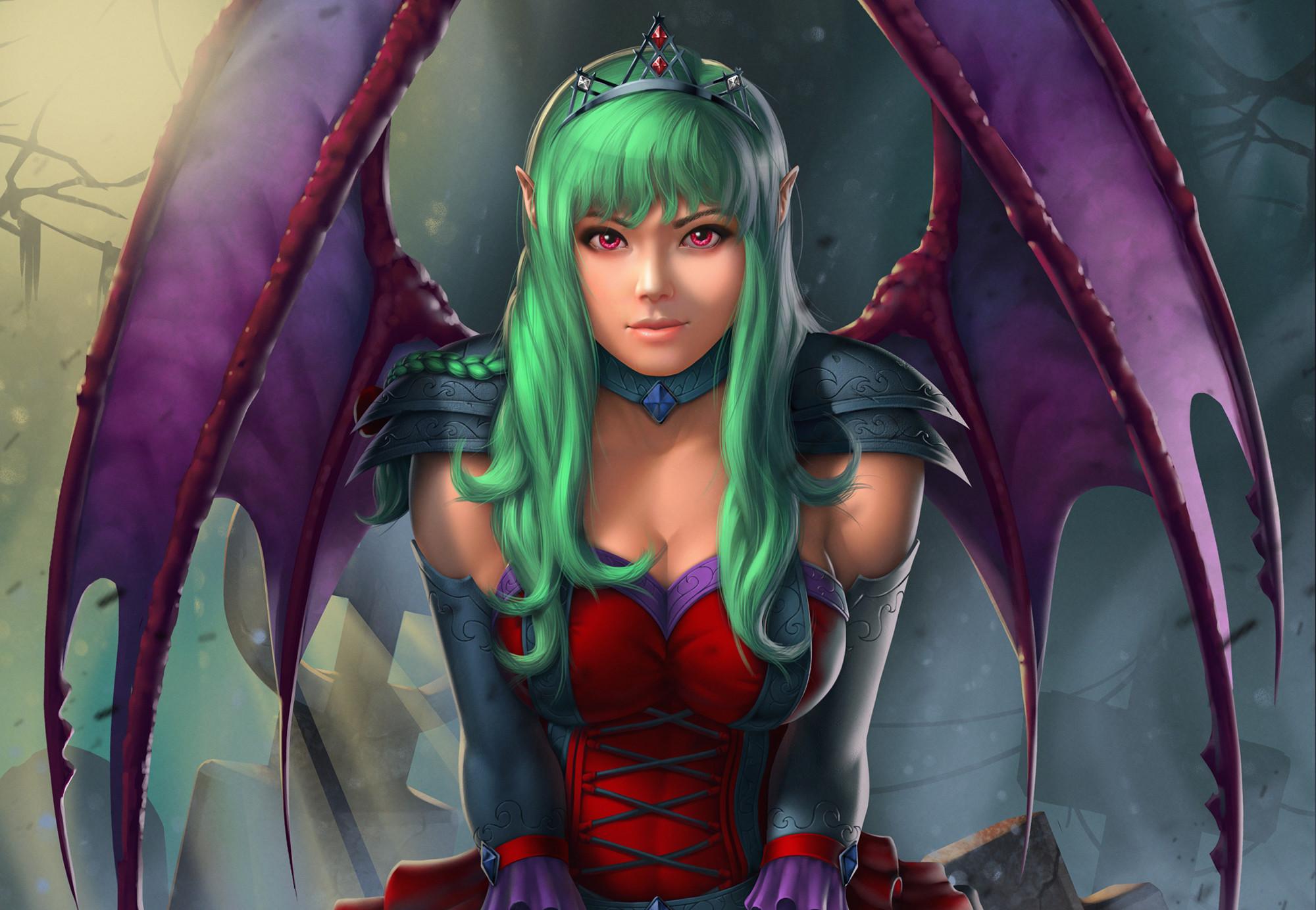 Demonic Girl HD Wallpaper x ID 2000×1384