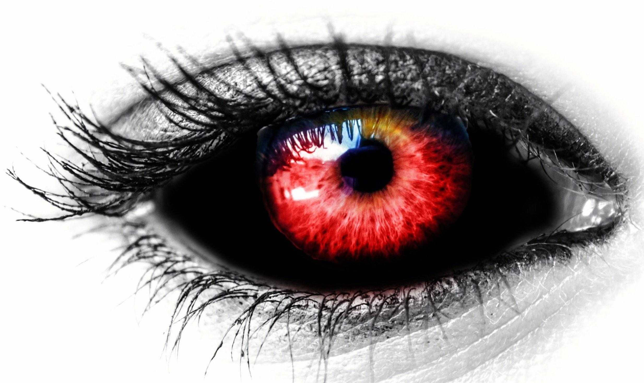 Eye Black Red Female Red Color Vampire Dark Horror Evil Demon Wallpaper At  Dark Wallpapers
