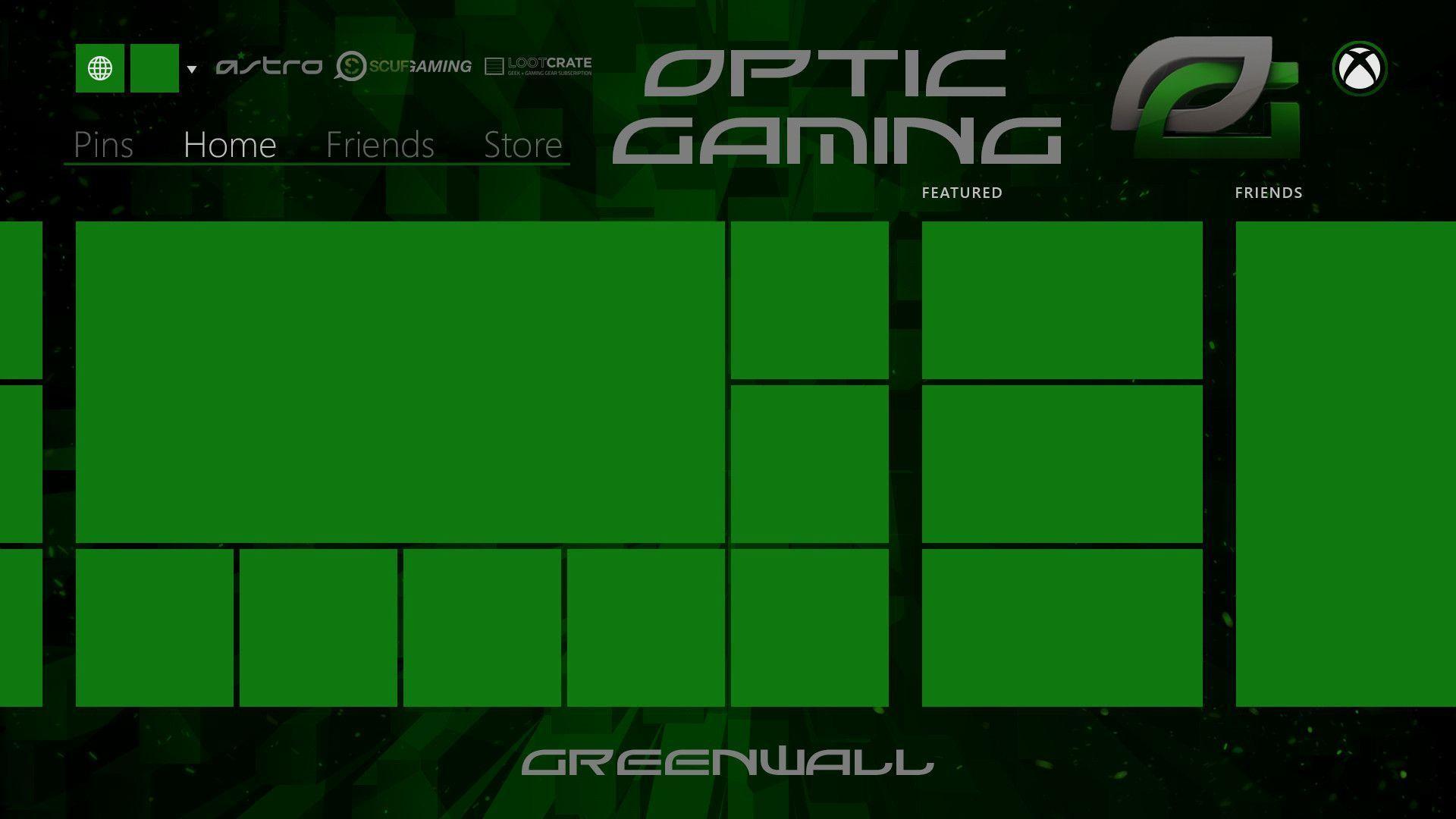 Optic-gaming-background