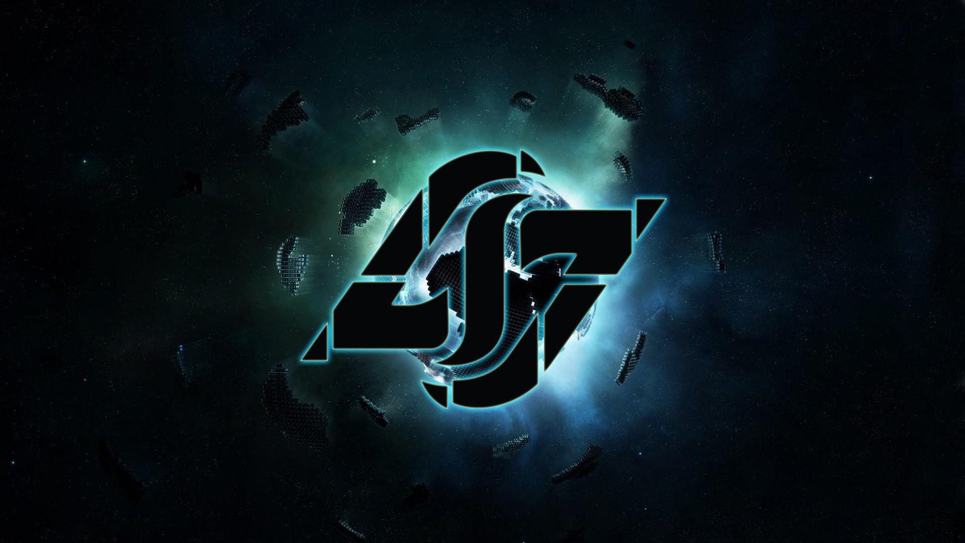 CLG | Counter Logic Gaming Black Wallpaper