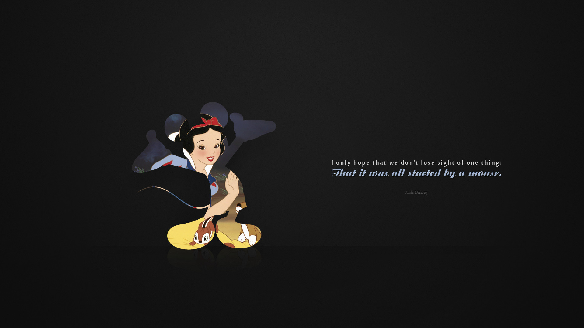 Disney Quotes Desktop Wallpaper. QuotesGram 0 HTML code. Some time ago, I  discovered a wallpaper that apparently never got .