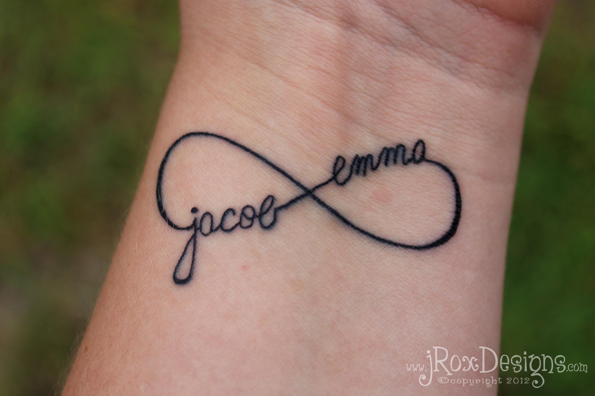 Infinity Symbol Tattoo Drawing photo – 1
