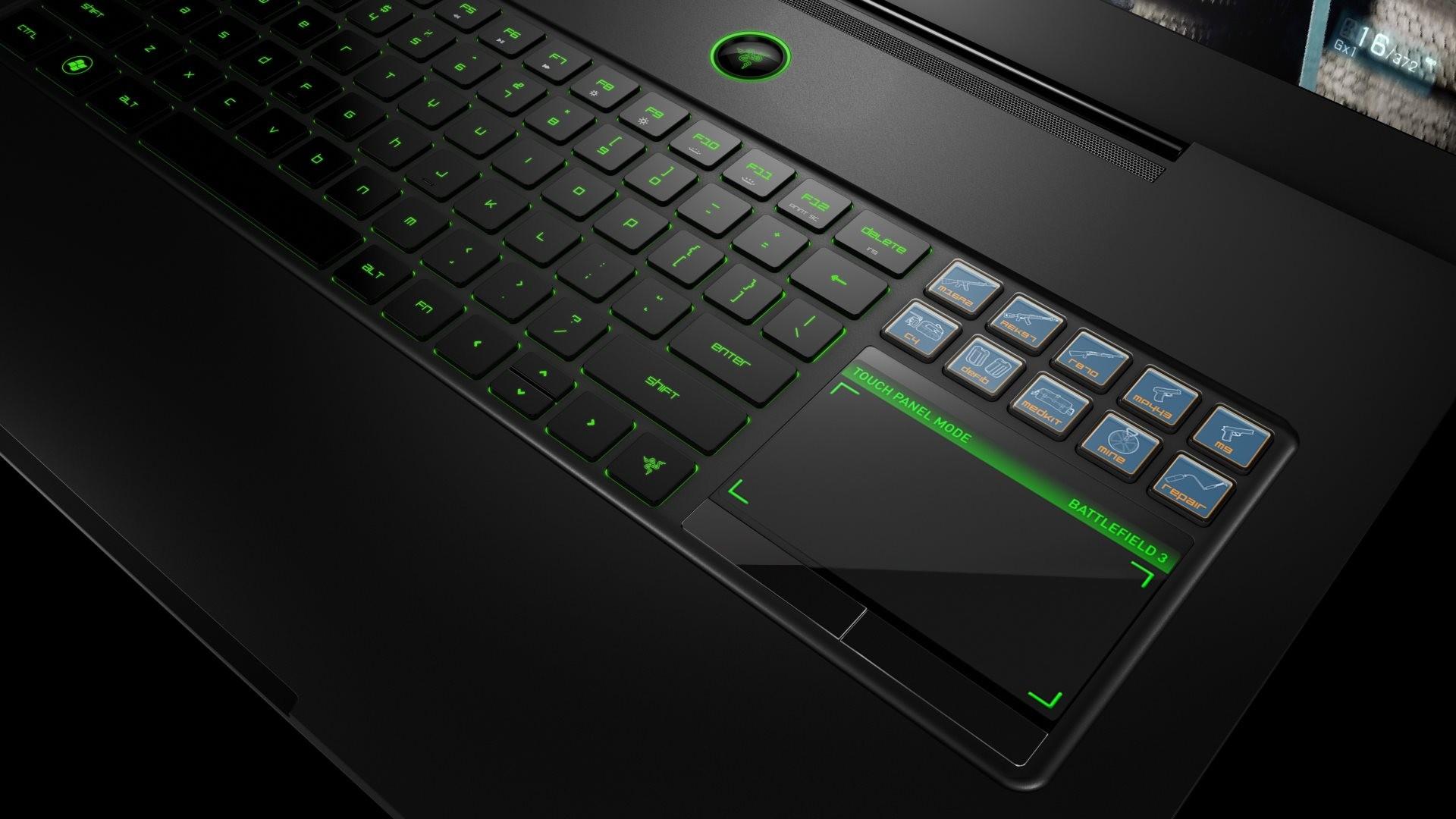 4K HD Wallpaper: Razer Blade Ultra-Thin Gaming Laptop