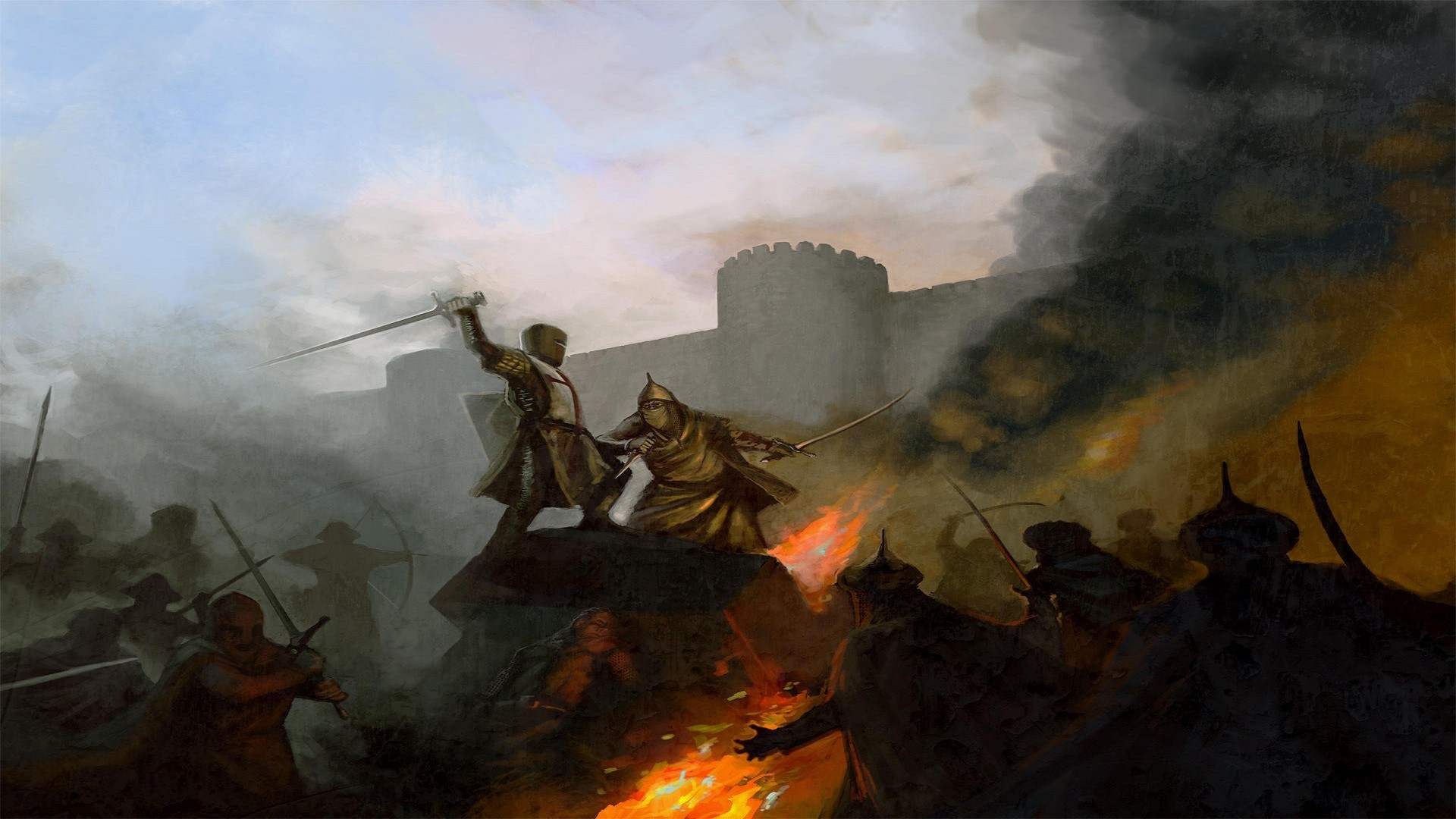 Knights Crusader Wallpaper Knights, Crusader, Muslim .