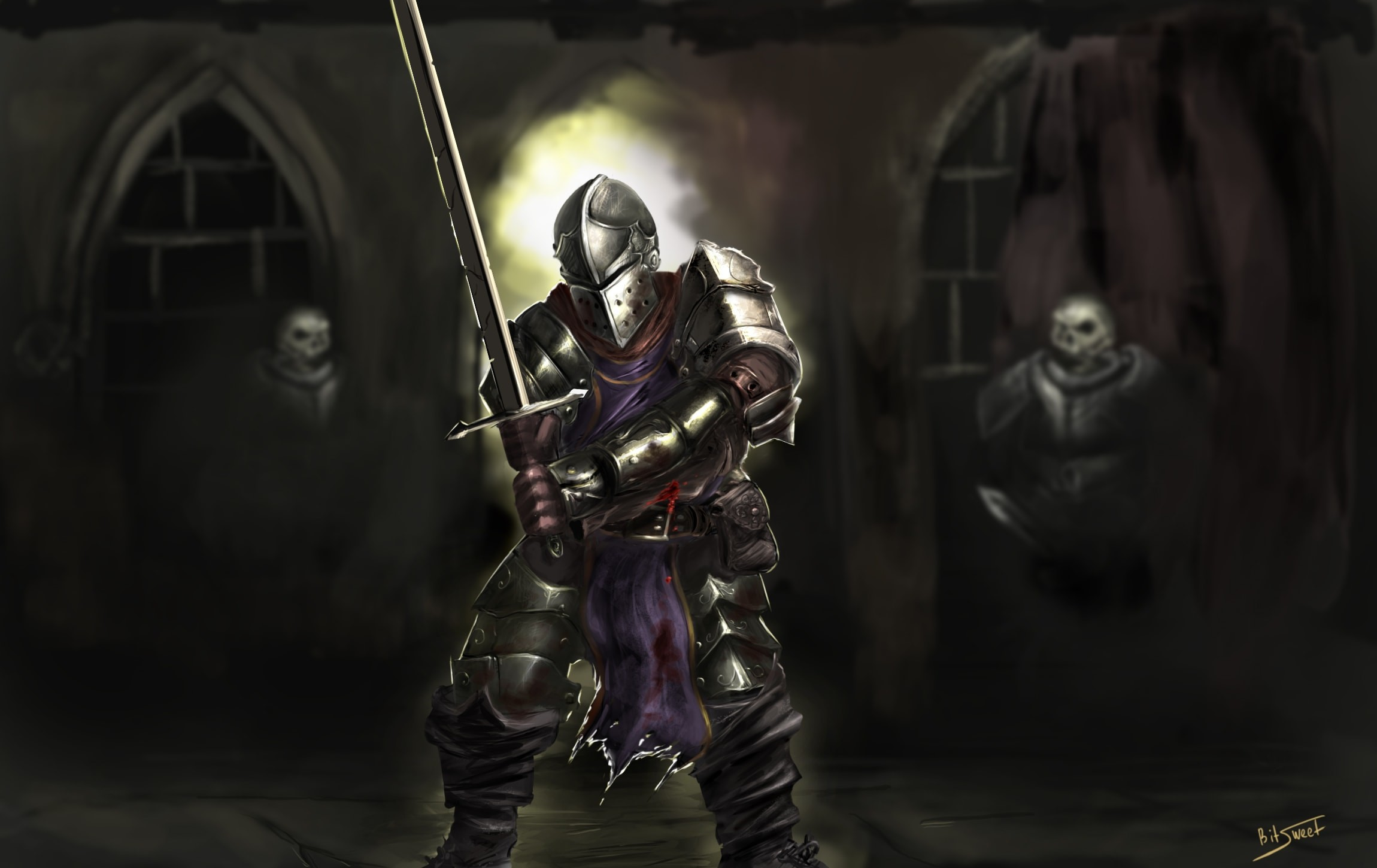 Darkest Dungeon: Crusader Wallpapers hd