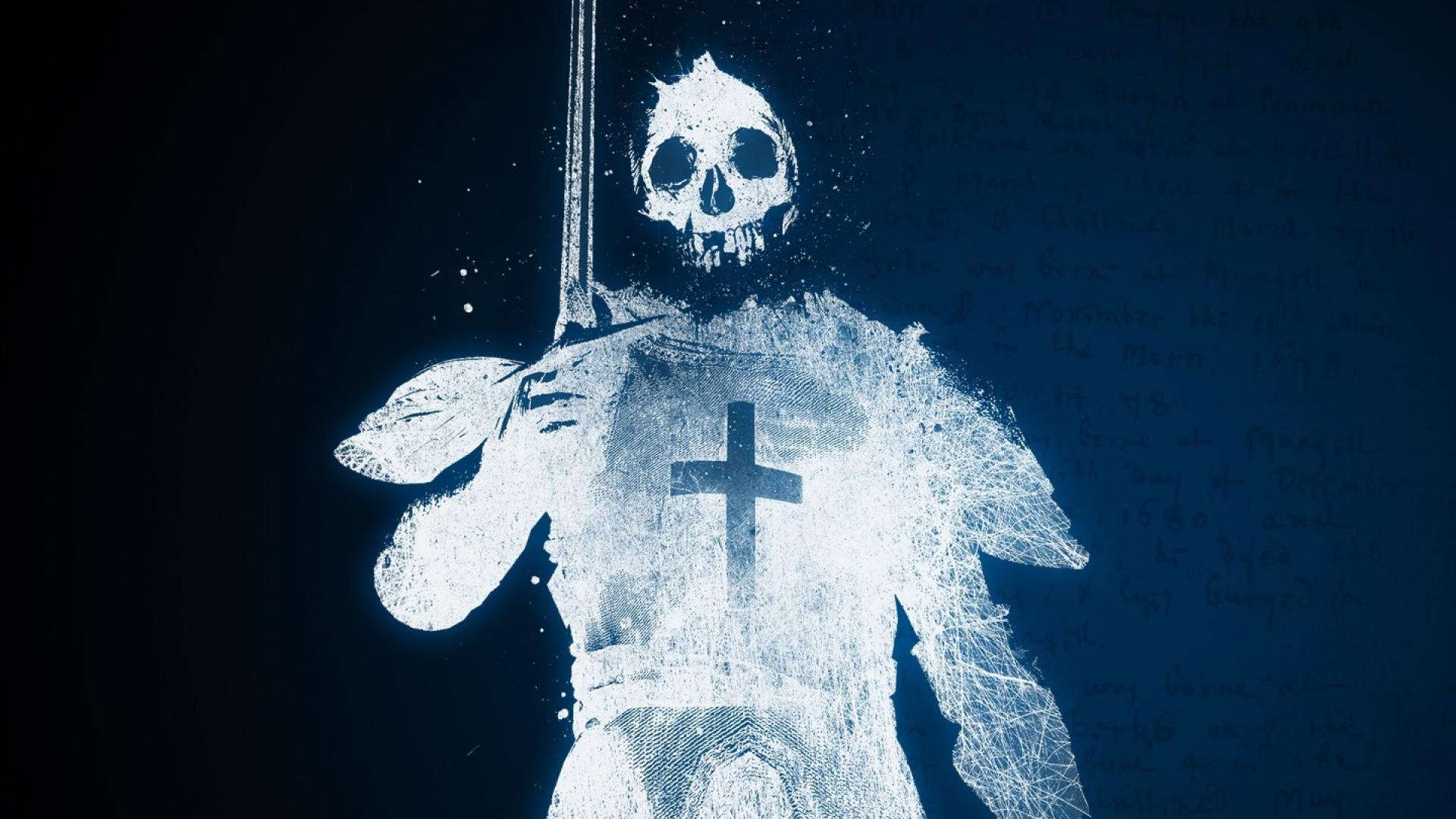 ghost knight crusader skull death hd wallpaper – (#26002) – HQ Desktop .
