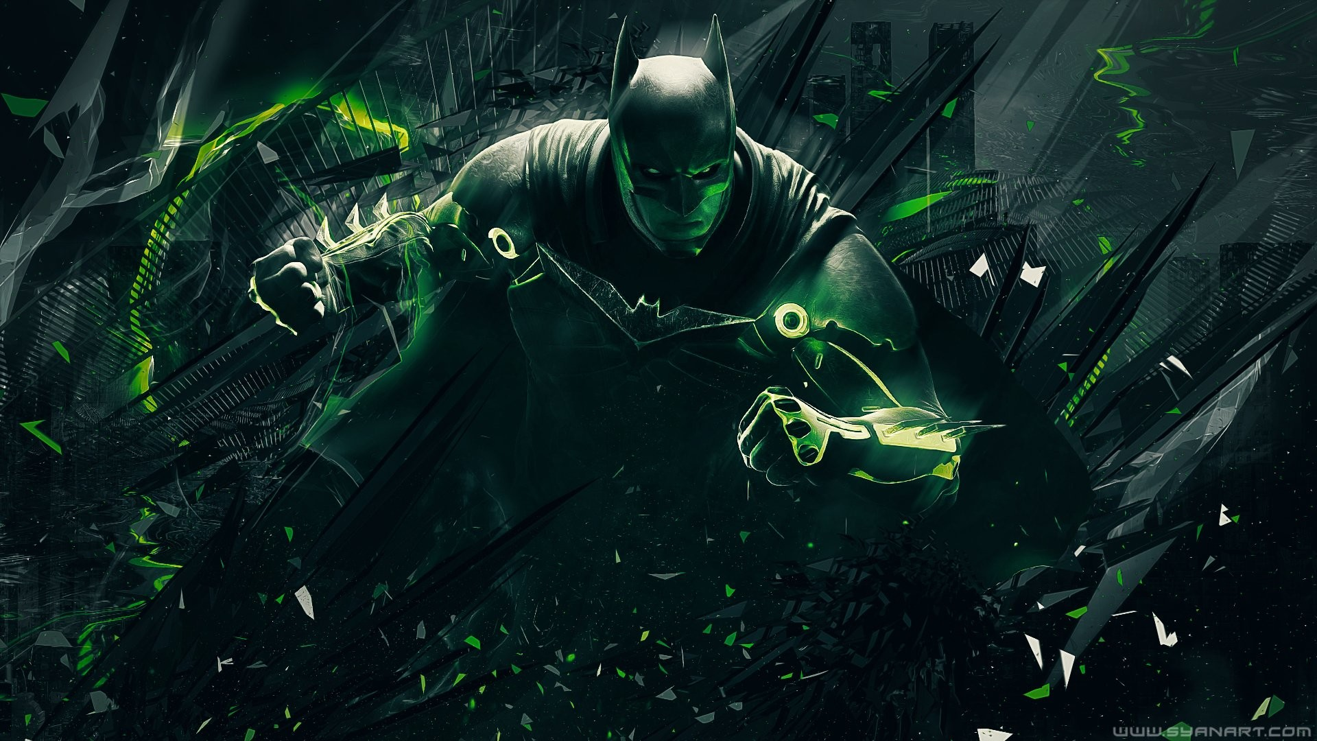 Video Game – Injustice 2 Batman Green Wallpaper