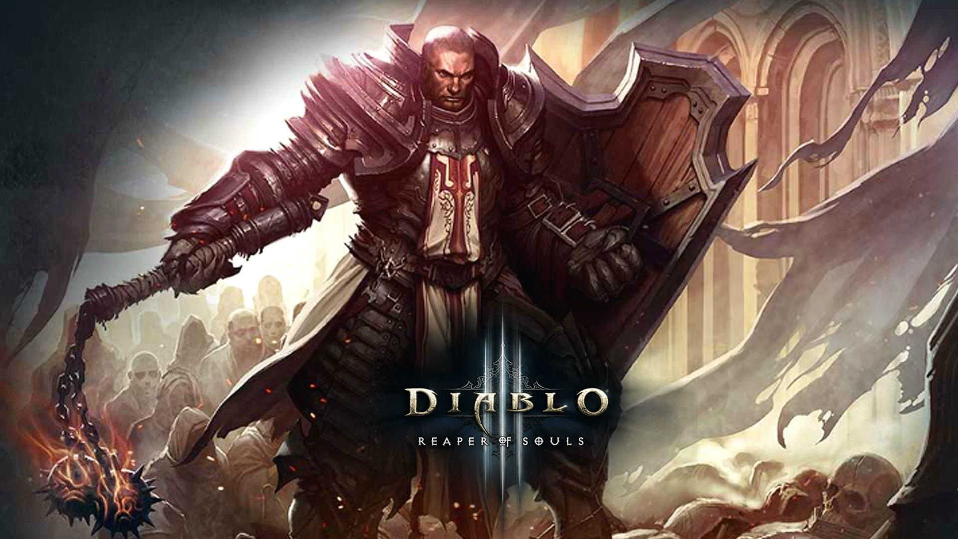 Diablo 3 – Crusader Wallpaper – GeekShizzle