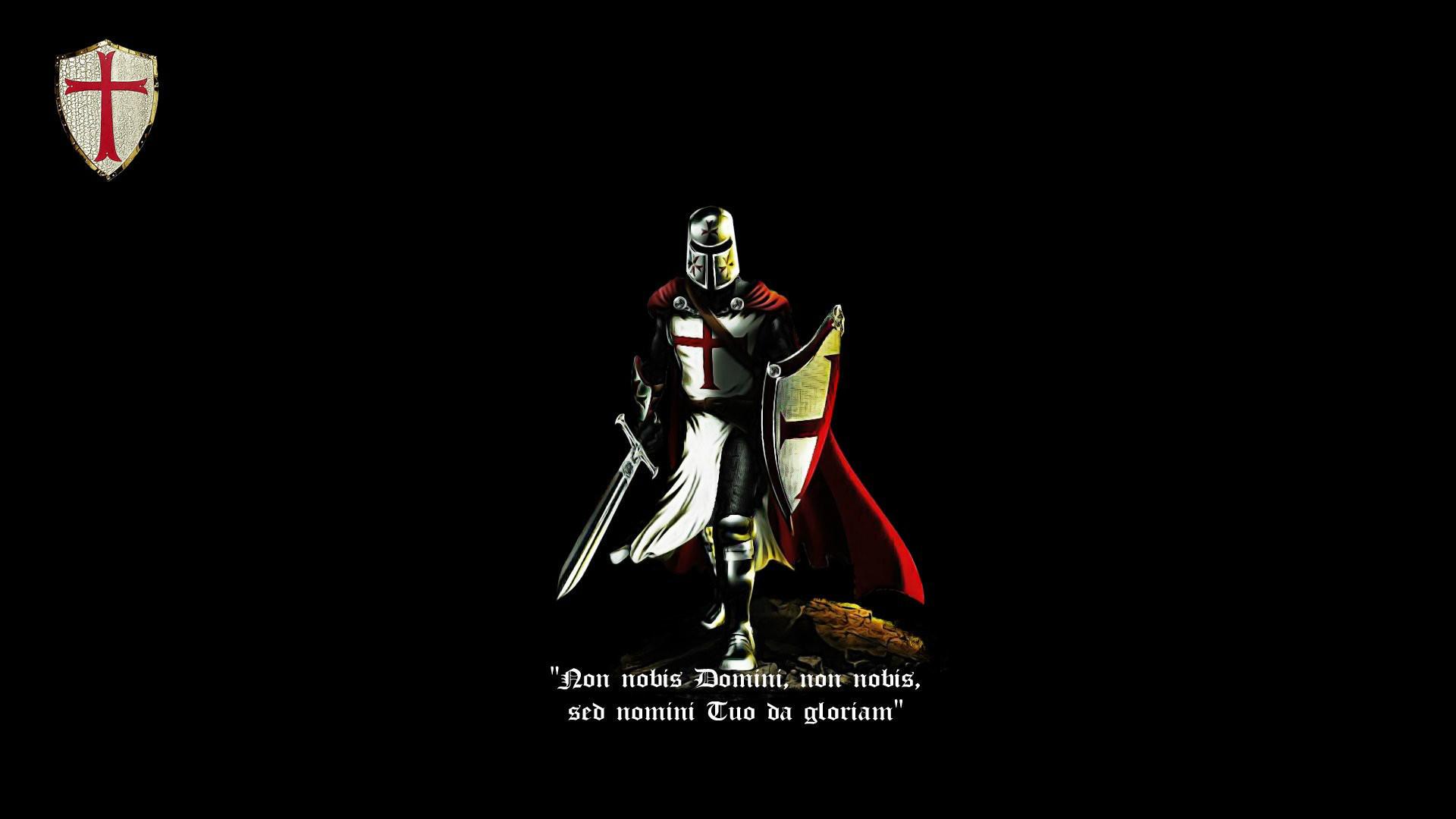 Knight, cross, knight templar, latin, crusader, cattolic, black, red