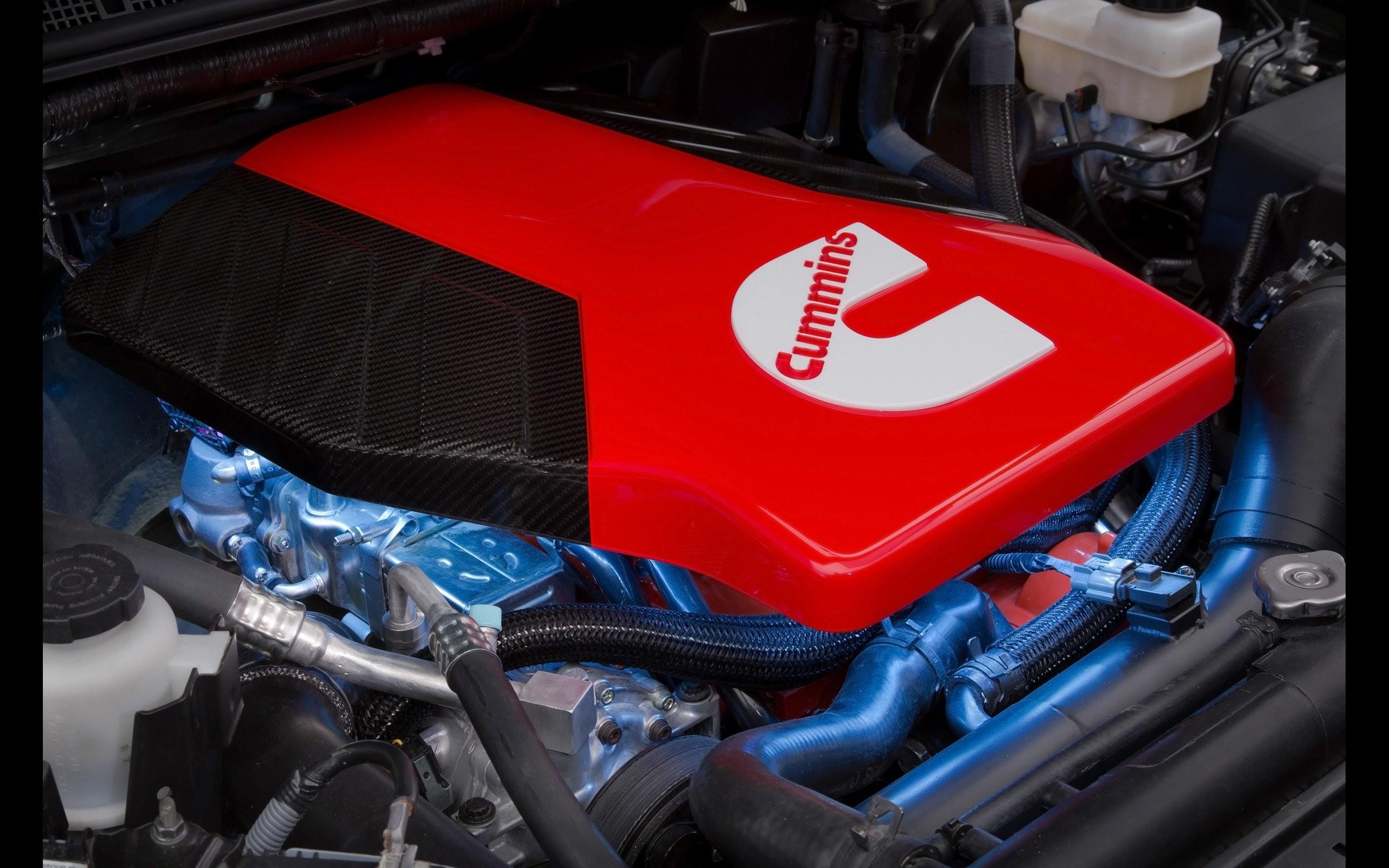 Frontier Diesel Runner Cummins pickup engine f wallpaper background .