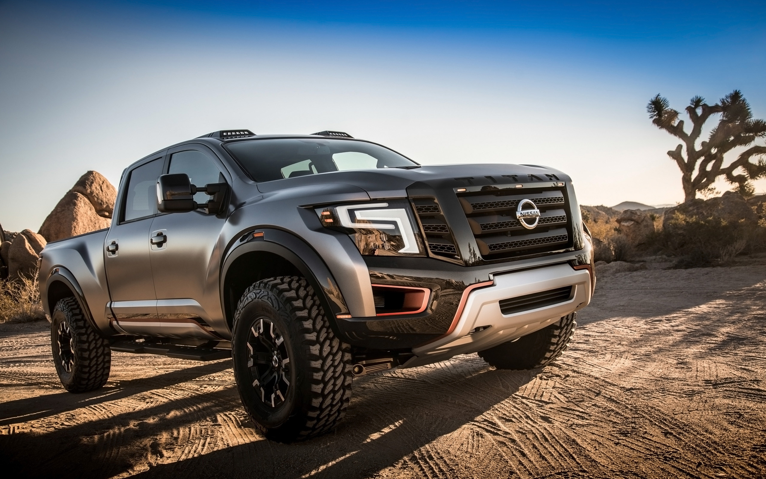 2016 Nissan Titan Warrior Concept