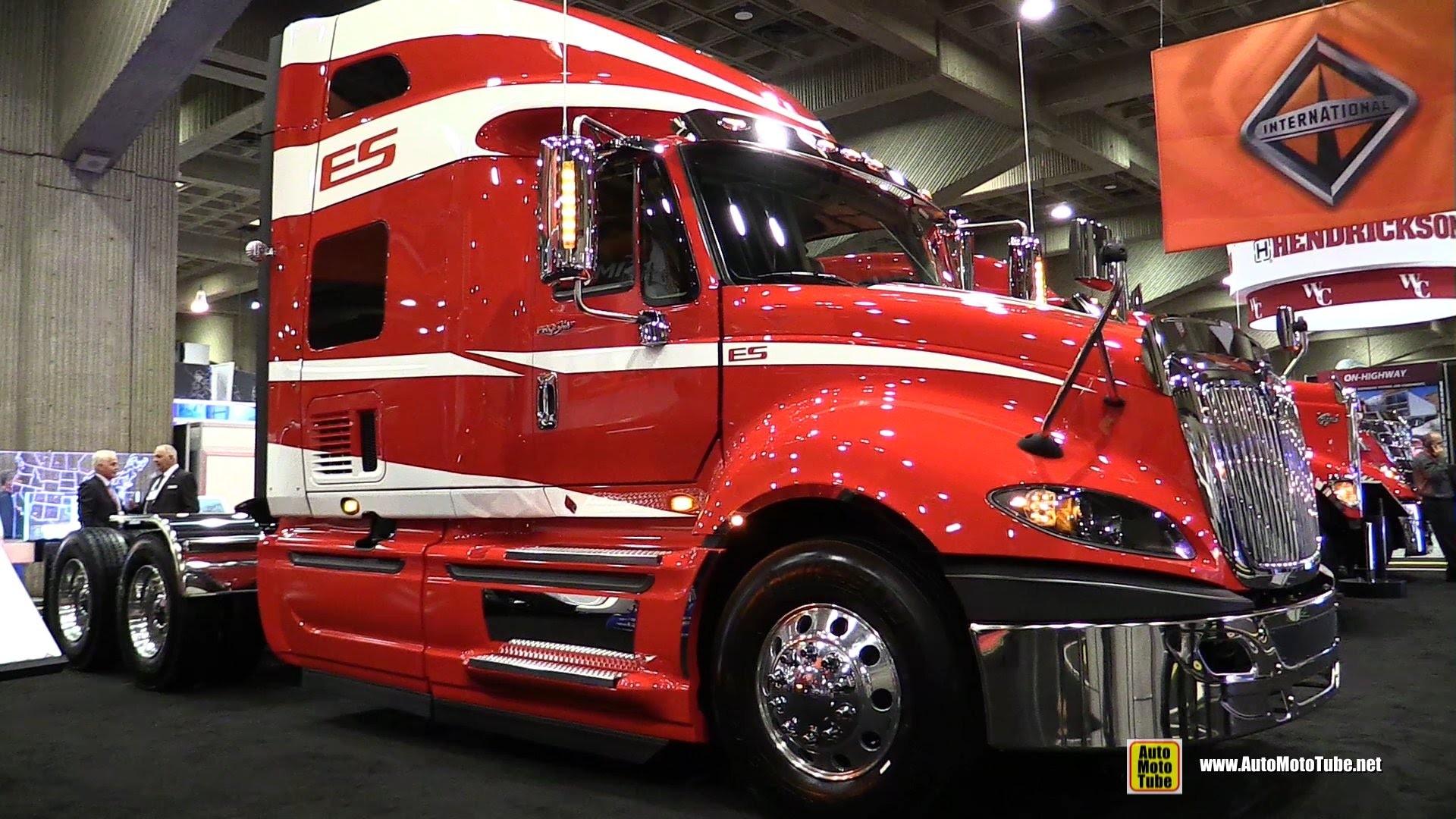 2015 International ProStar Truck with Cummins ISX 450hp Engine – Walkaround  – 2015 Expocam – YouTube