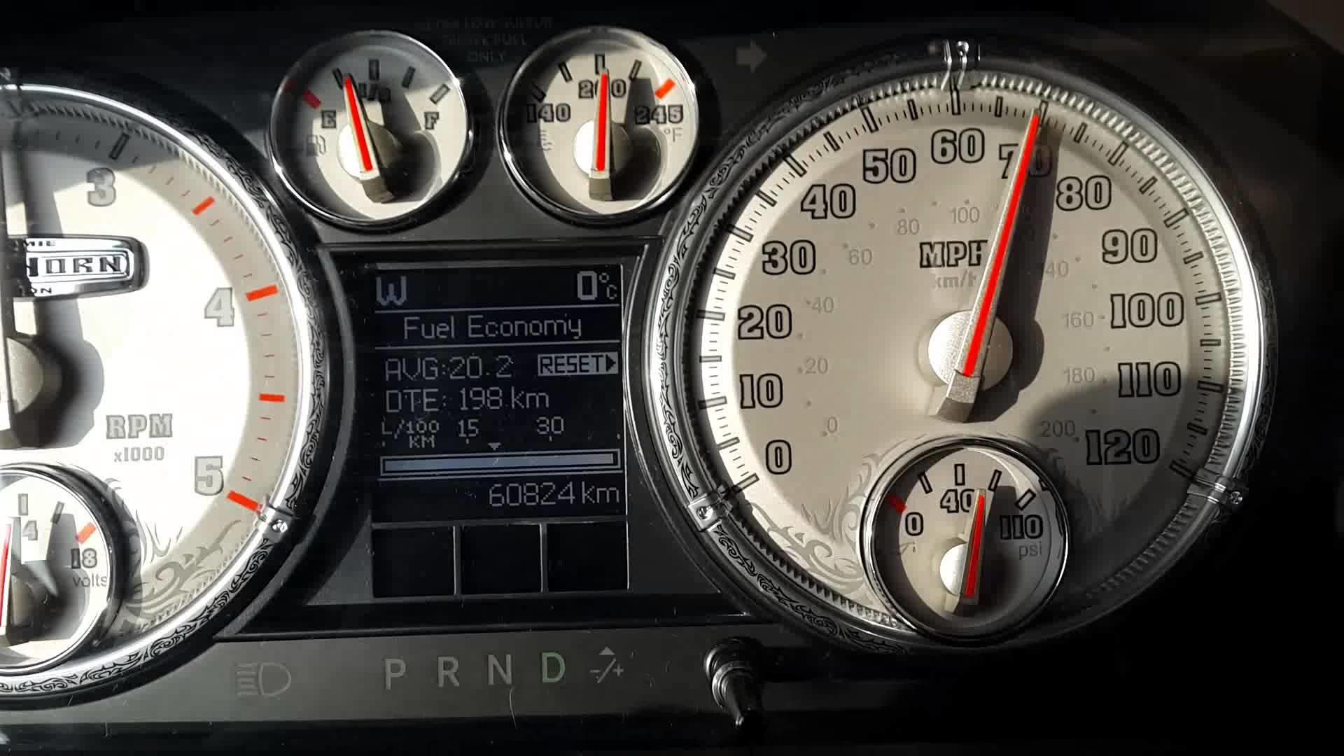 Ram 2500 6.7 Cummins Smarty 0-60 Acceleration