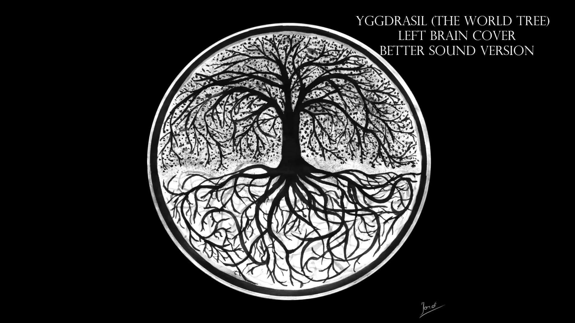 Yggdrasil (The World Tree) – Left Brain – Acoustic Guitar Cover – YouTube