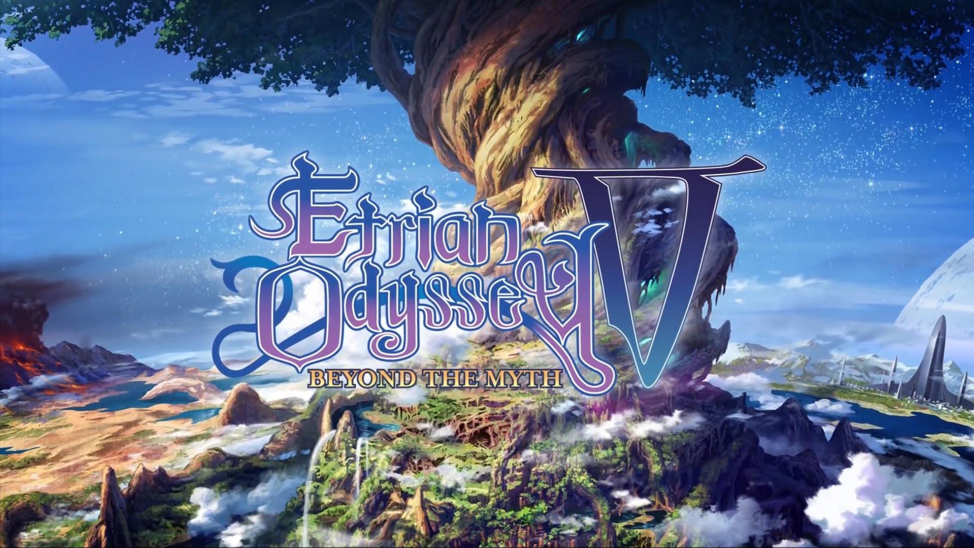 Etrian Odyssey V: Beyond the Myth – Brave The Yggdrasil Tree Trailer