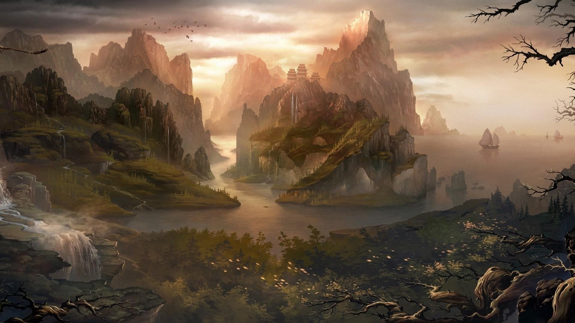 14 best fantasy images on Pinterest | Landscapes, Places and Fantasy art