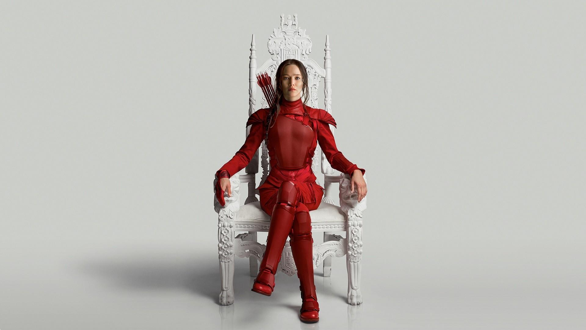 Jennifer Lawrence looking bad ass as Katniss [1920×1080] …