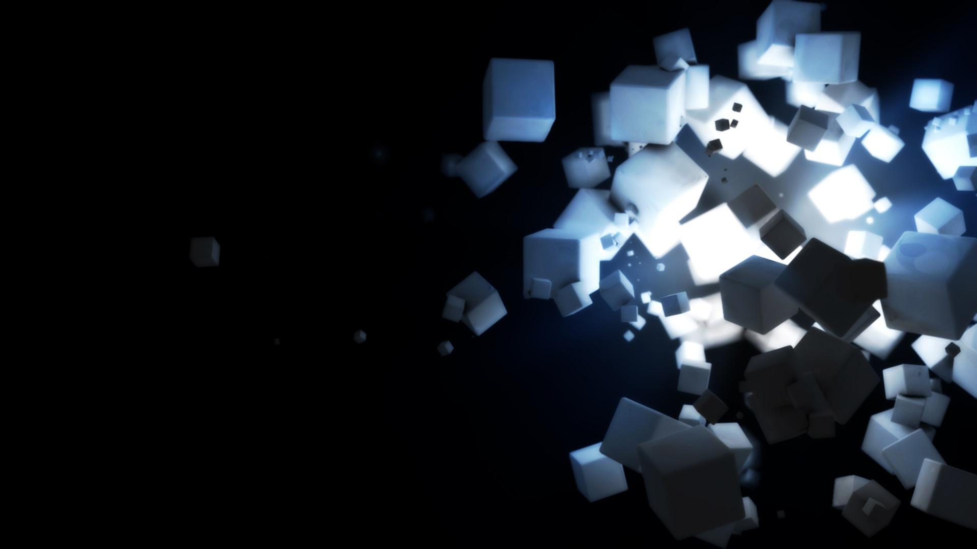 Dark Cubes Wallpapers   HD Wallpapers