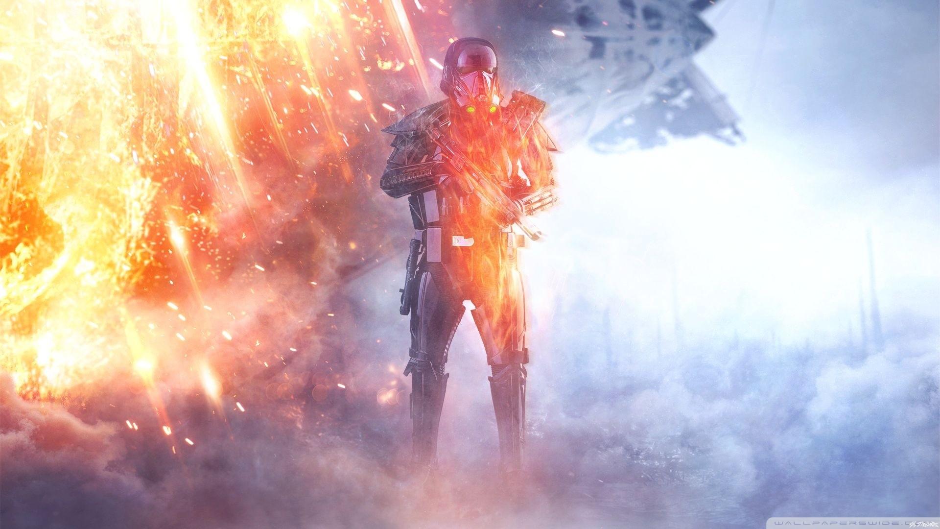 BattleFRONT 1 Rogue One Death Trooper HD Wide Wallpaper for Widescreen
