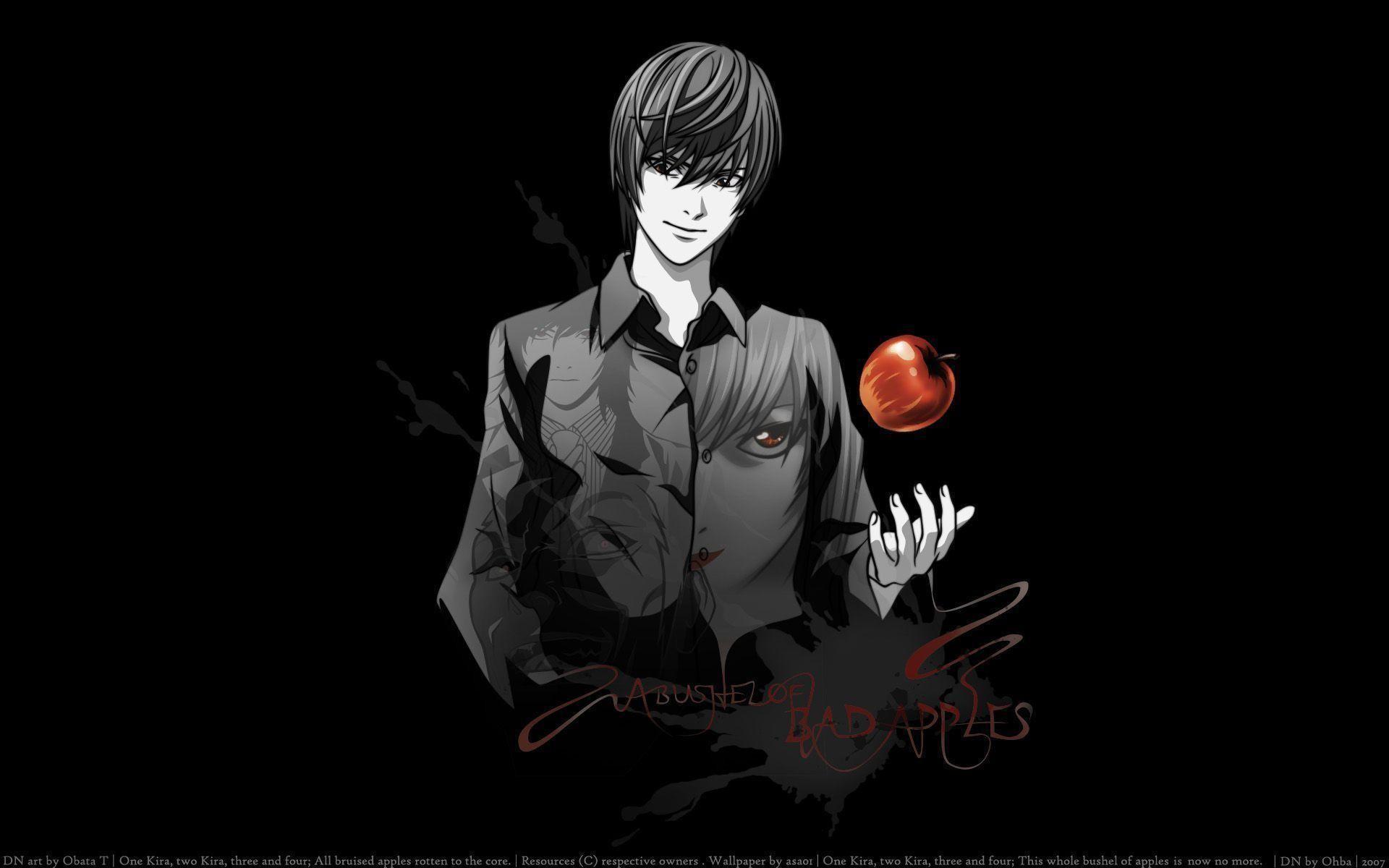 Light Yagami Wallpaper – Death Note Wallpaper (36246923) – Fanpop .
