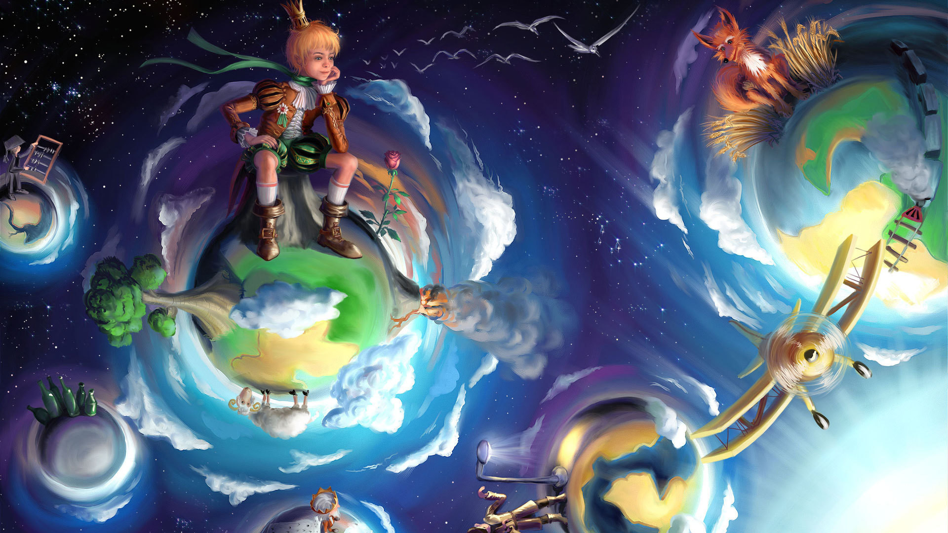 Fairy tale about the little prince