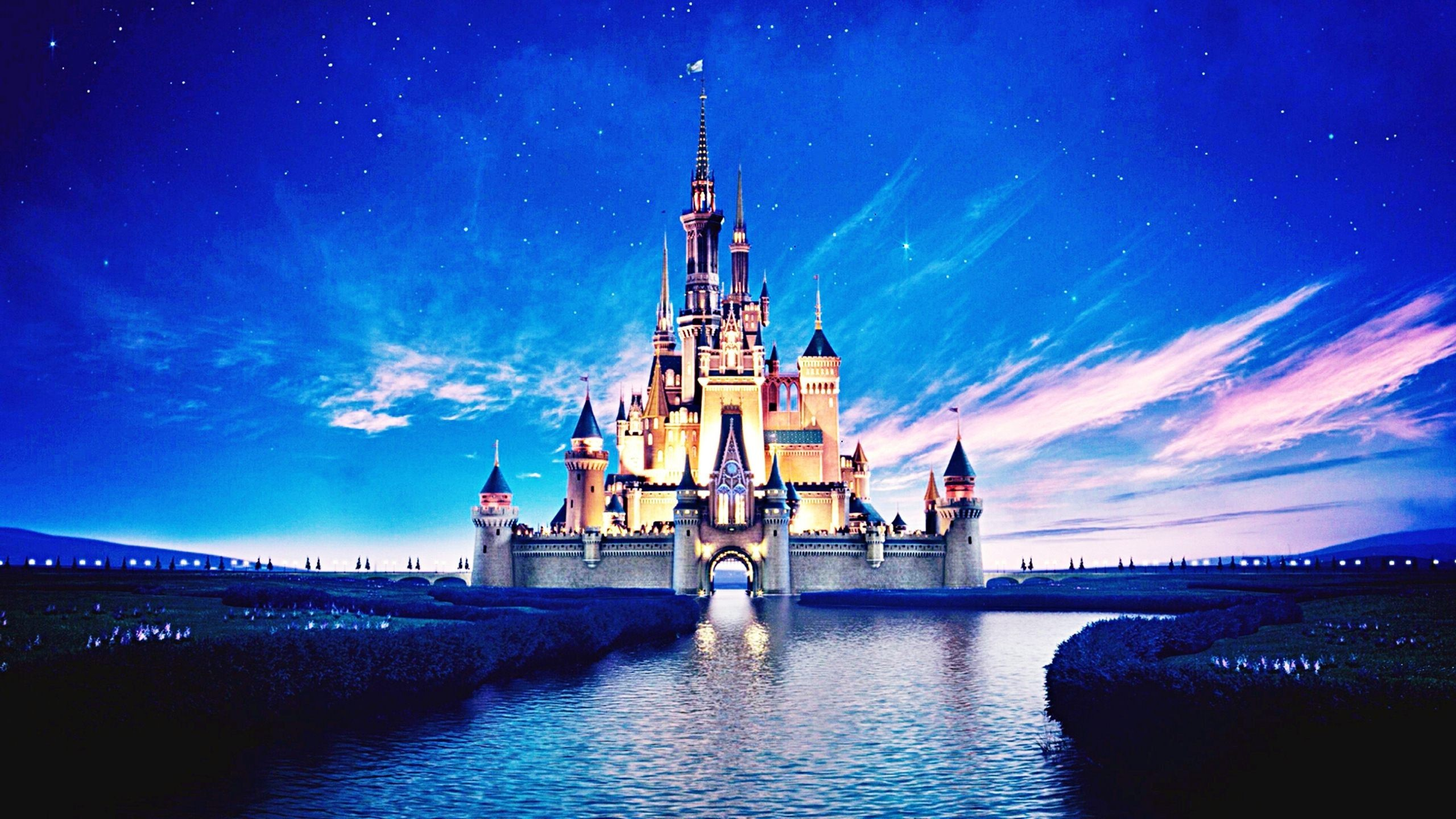 Disneyland Castle Inside – wallpaper.