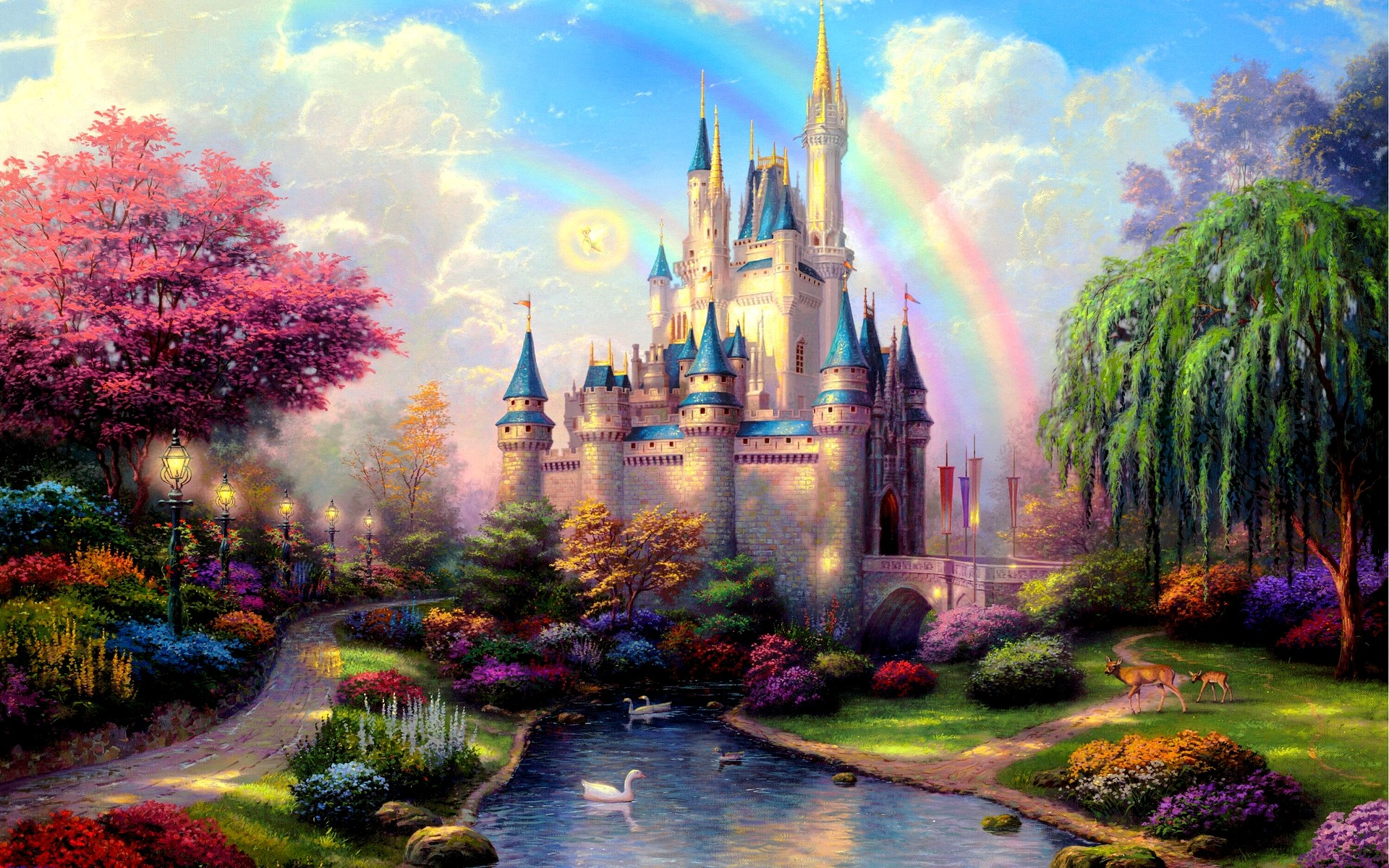 hd-wallpapers-download-new-day-at-cinderella-castle-