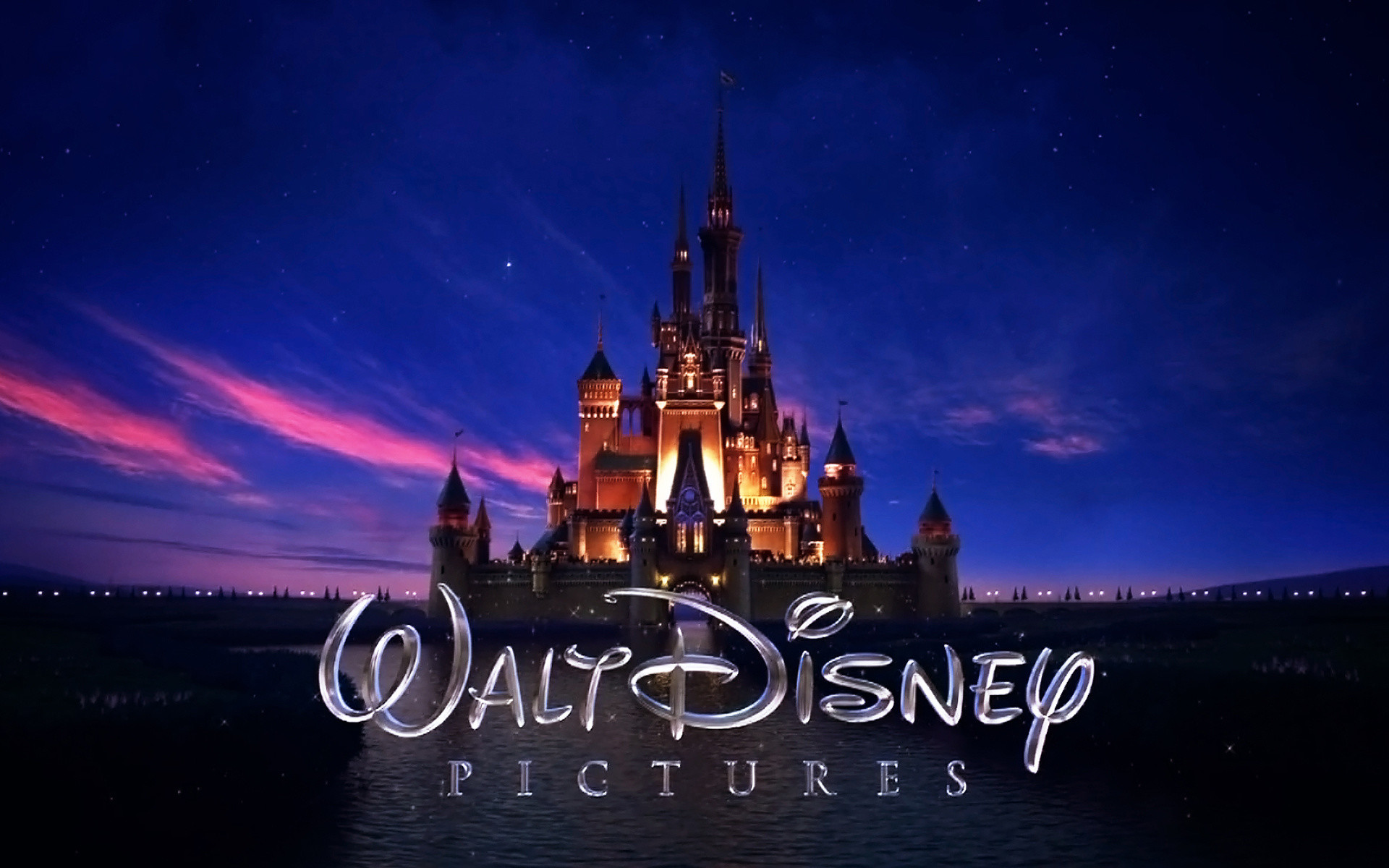 walt disney, logo, castle wallpapers, pictures, free download .