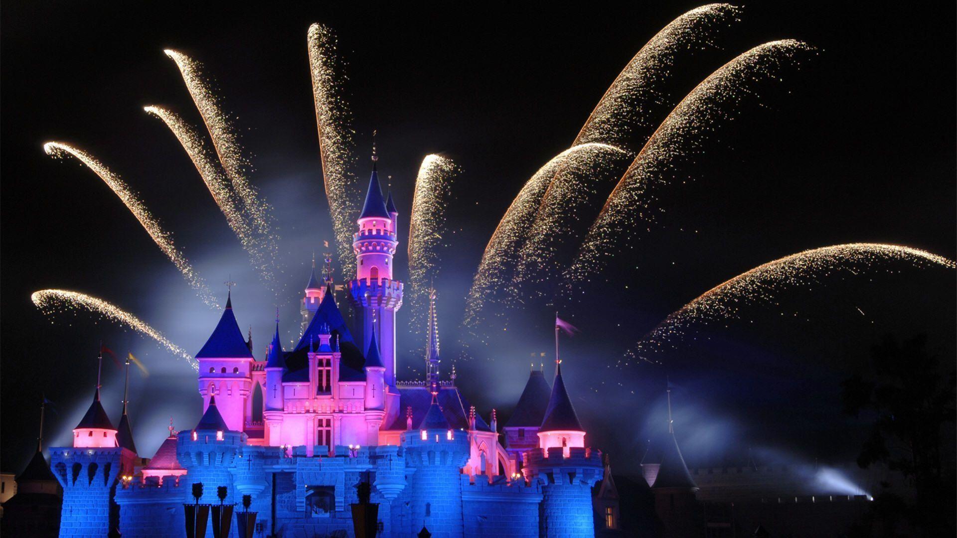 Disney Castle Wallpaper HD