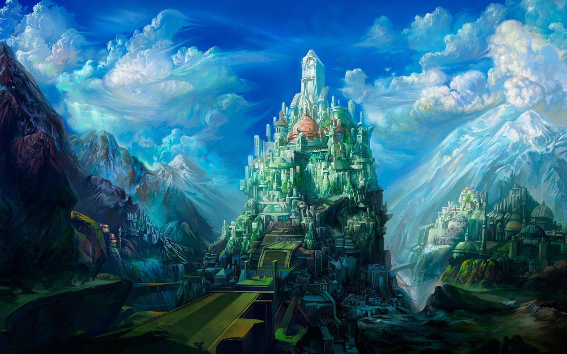 Fantasy Castle Wallpaper HD   Free HD Desktop Wallpaper   Viewhdwall.