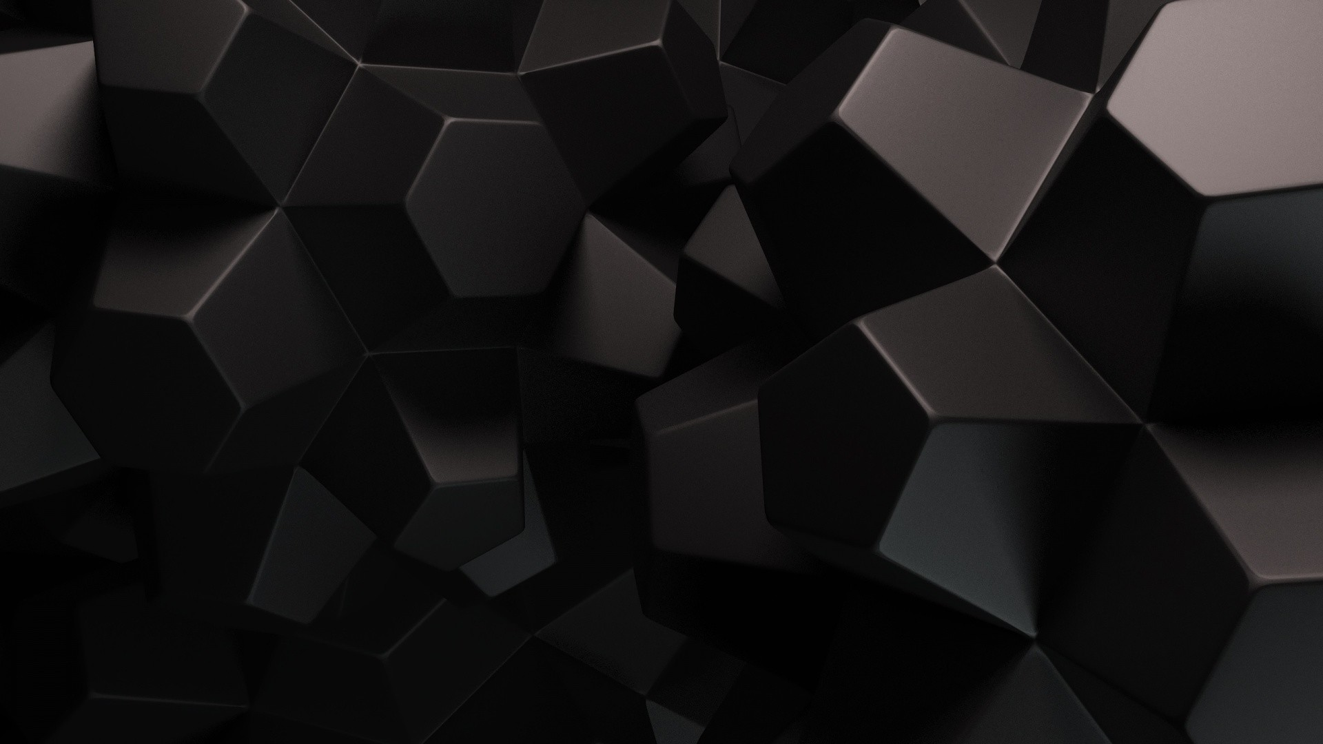 Black Abstract Wallpaper 1920×1080