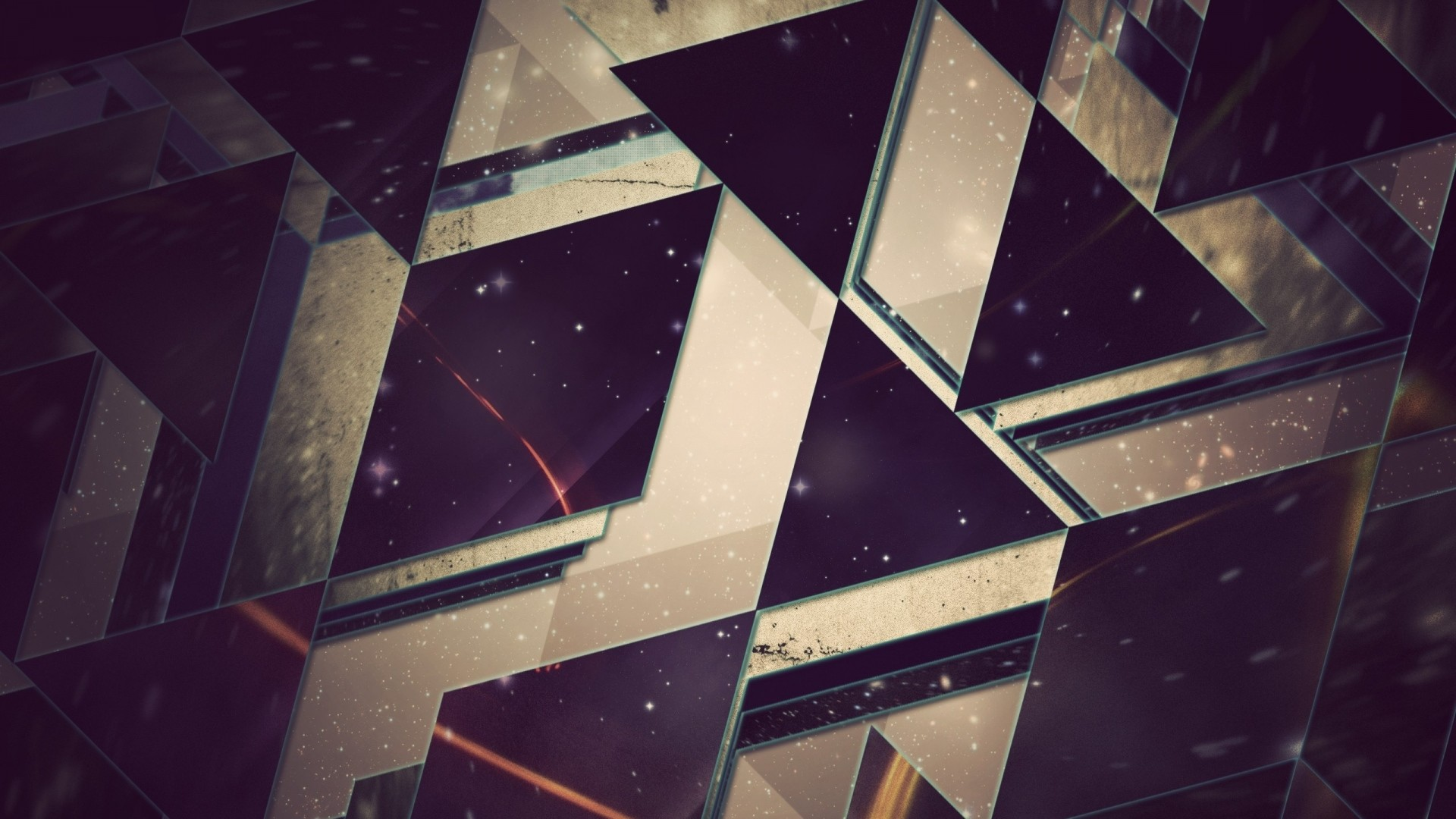 Preview wallpaper triangles, background, light 1920×1080