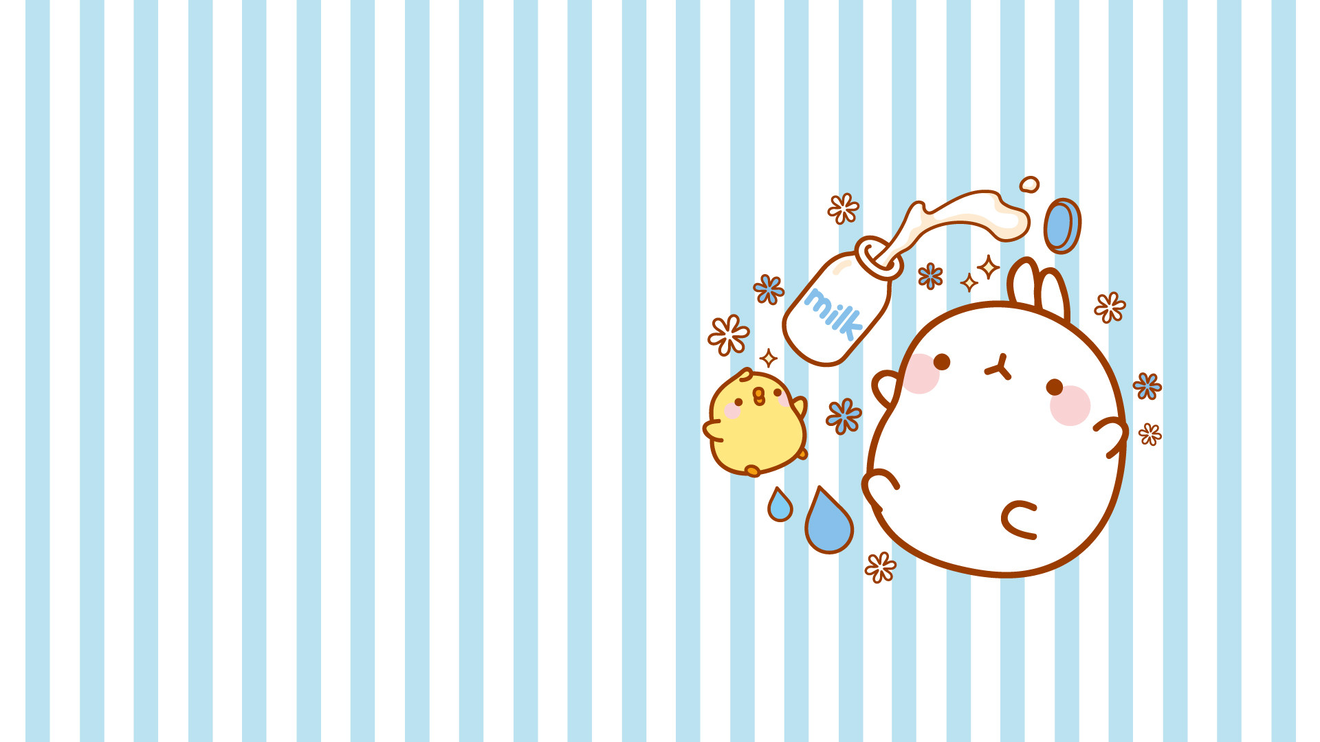 106 best Molang images on Pinterest   Pusheen, Kawaii stuff and Kawaii  illustration