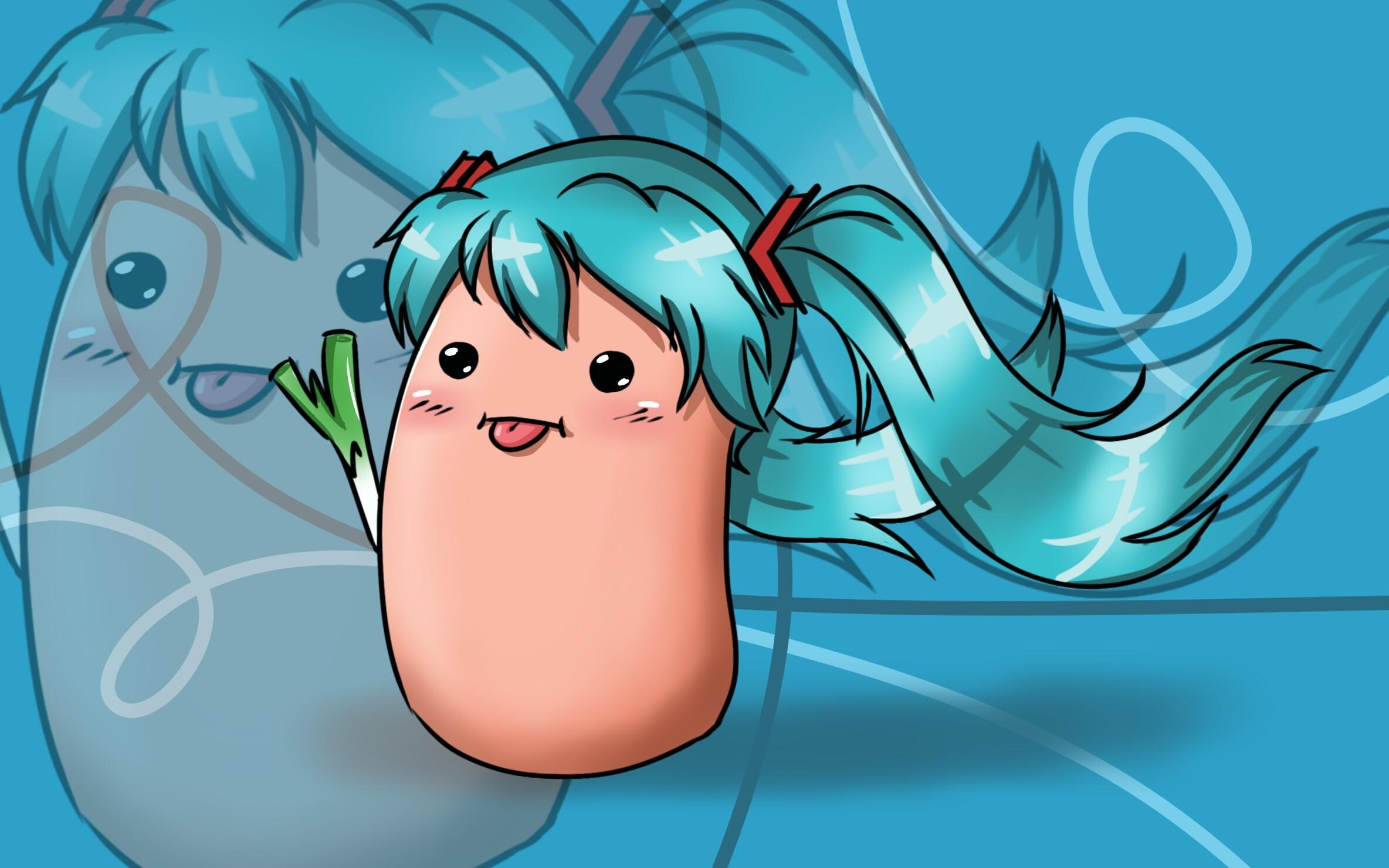 … [Kawaii Potato] ~ Miku by Vocaloid12028