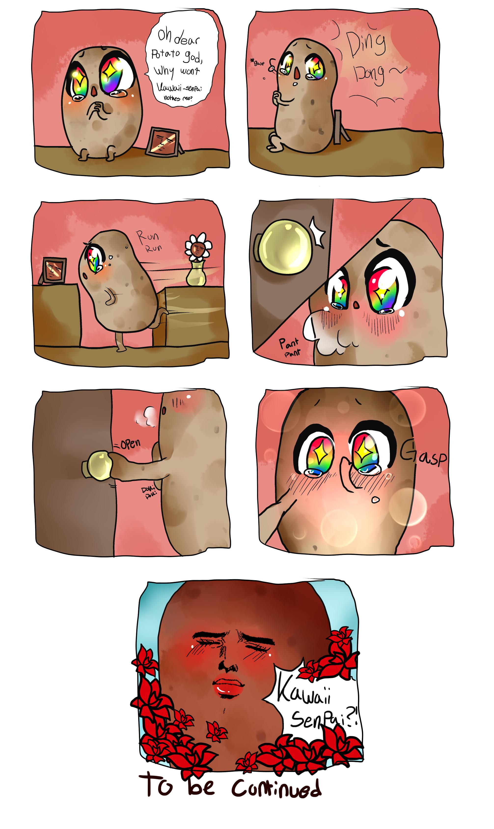 … StrawBerryAngel937 Kawaii potato comic part 1 by StrawBerryAngel937