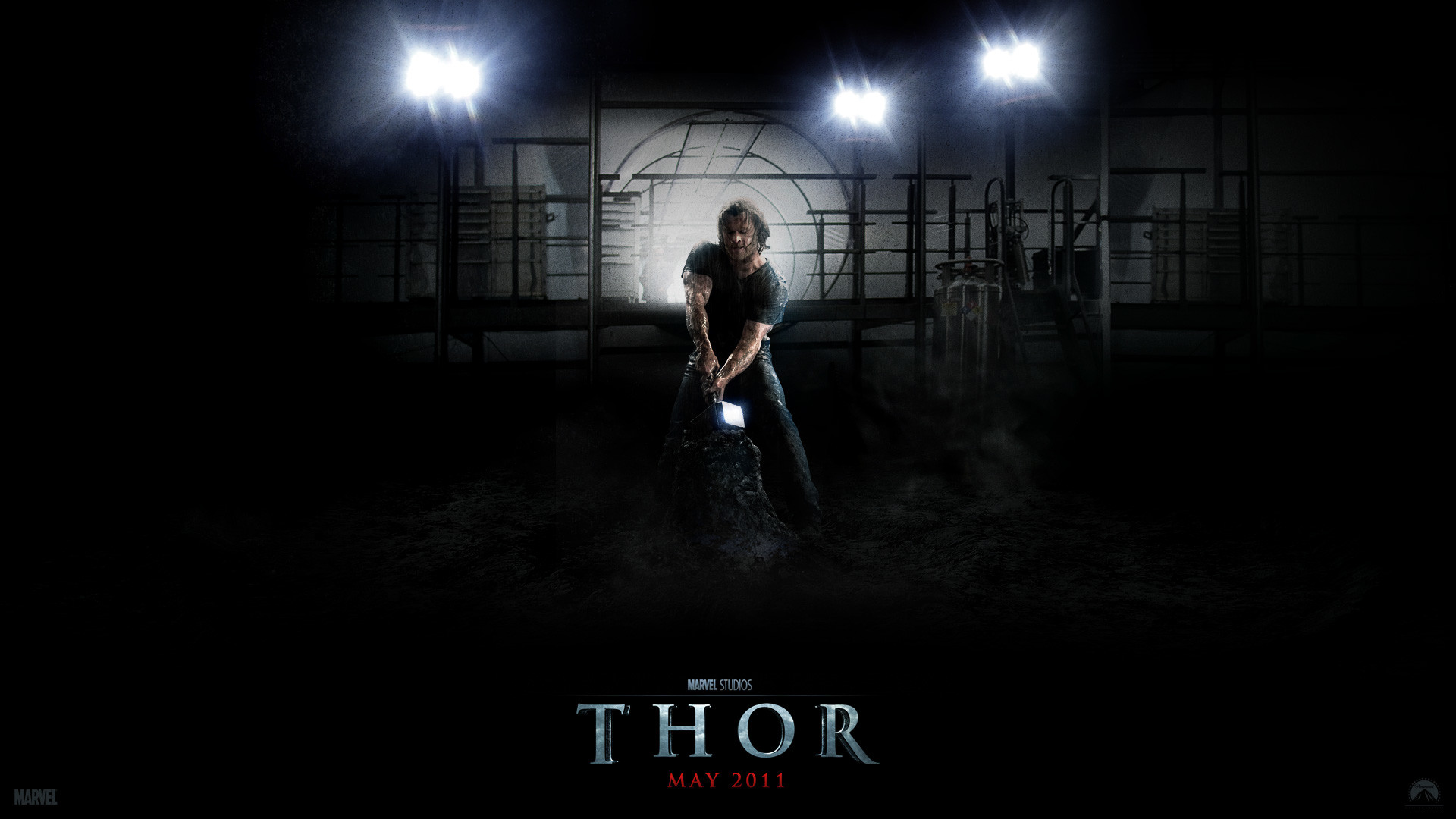 Thor and His Hammer wallpaper – Click picture for high resolution HD  wallpaper