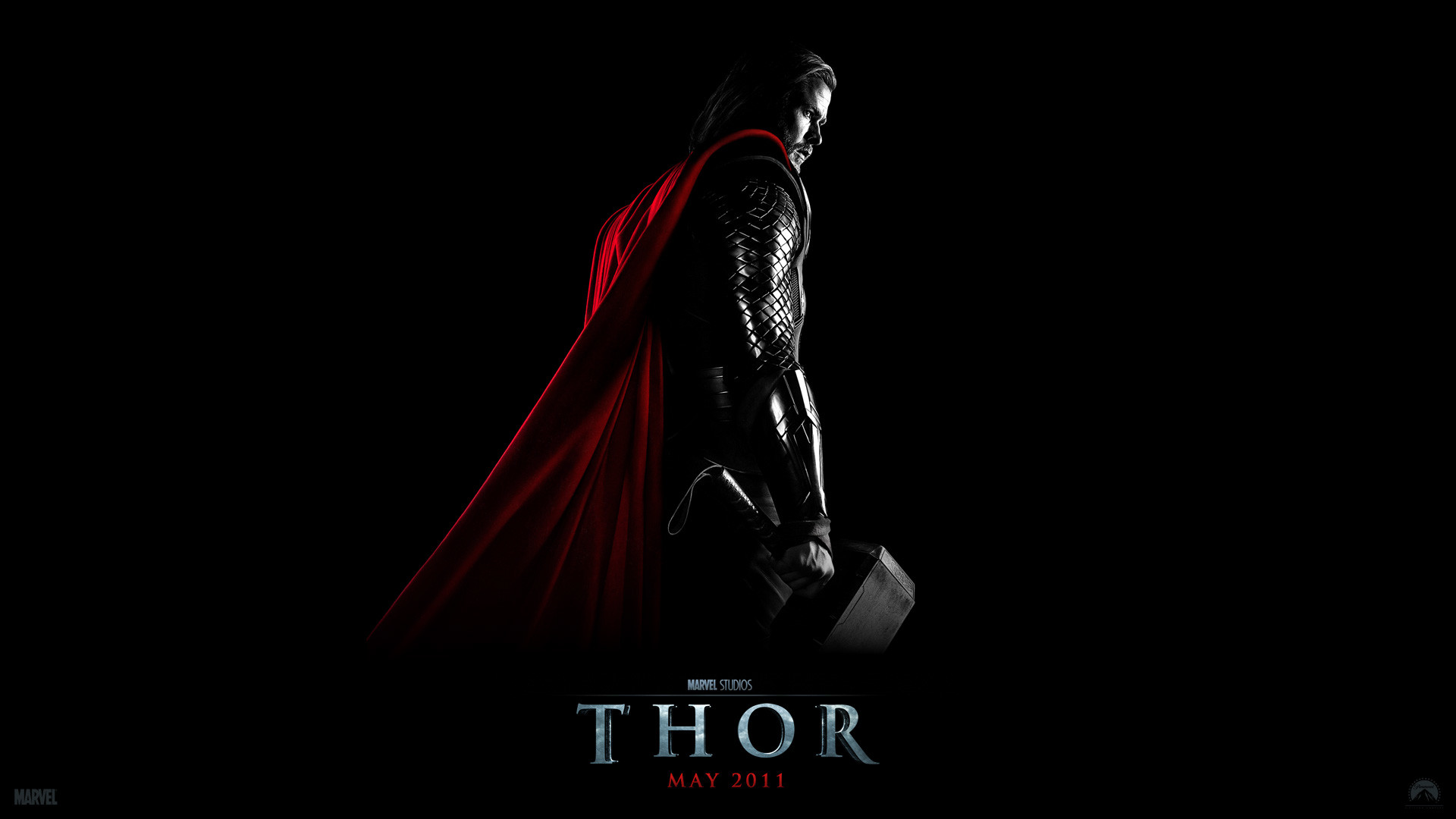 Thor from the Marvel Studios movie Thor wallpaper