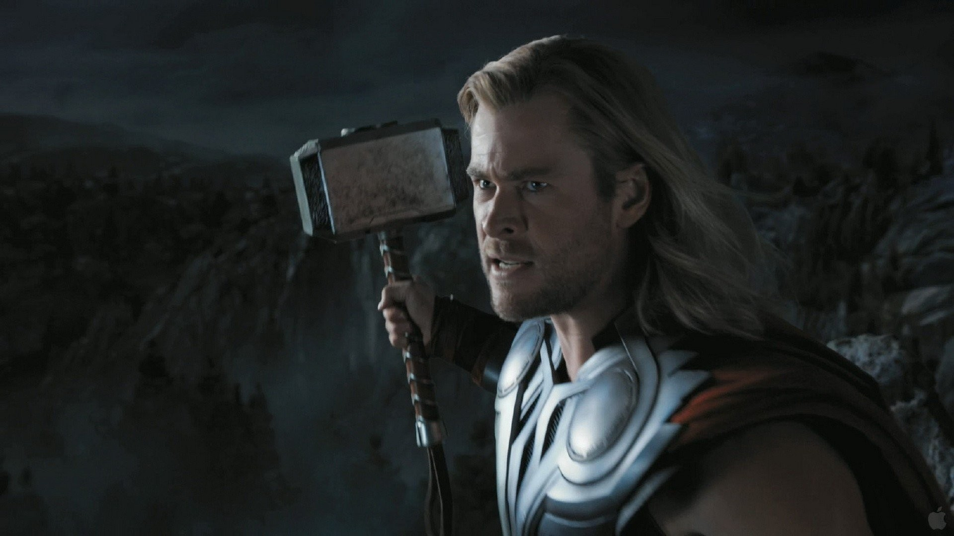 Thor hammer screenshots trailer Chris Hemsworth The Avengers (movie) Mjolnir  wallpaper     328717   WallpaperUP