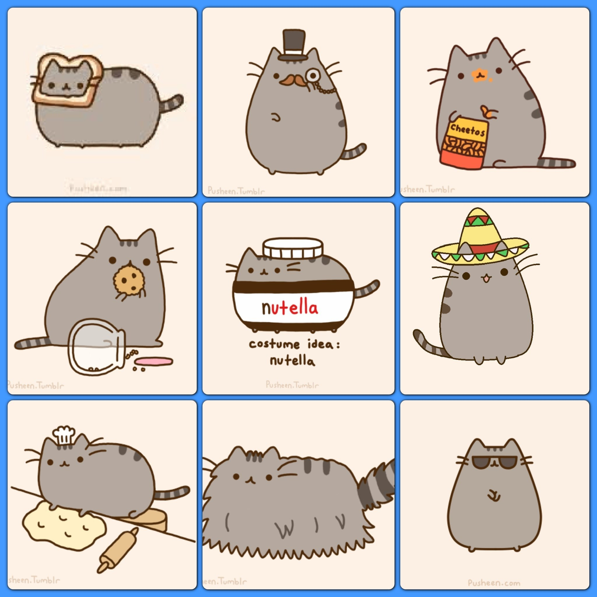 63 Pusheen Wallpaper For Computer