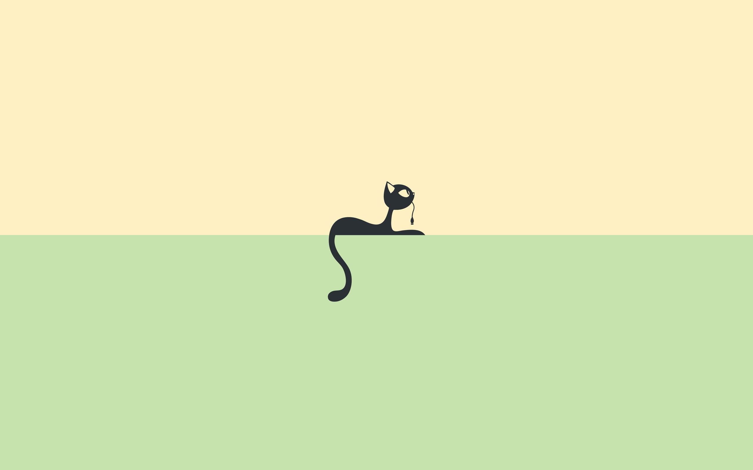 Cartoon Cat-Wallpaper-PKB923