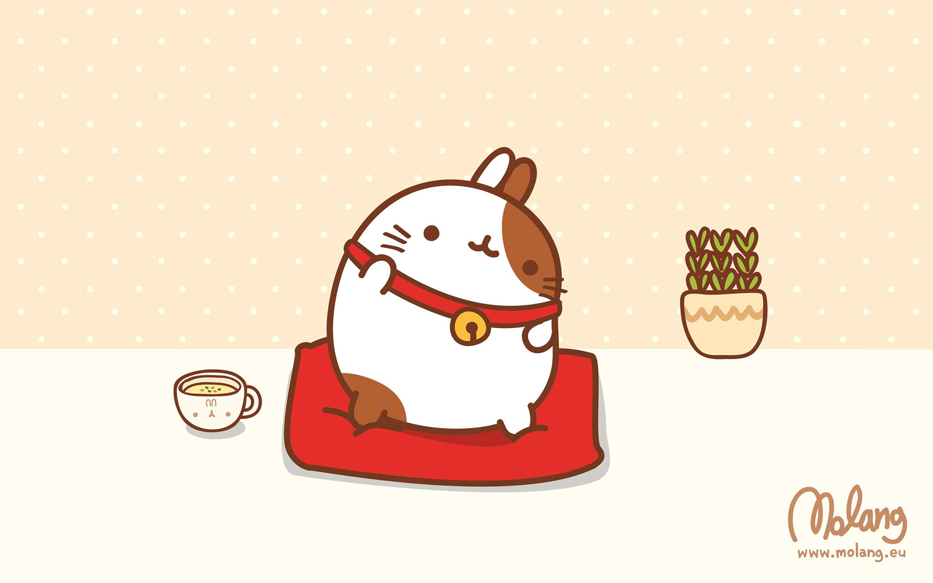 Cute Molang Desktop Wallpapers You Can Download Them In 1920x1200px
