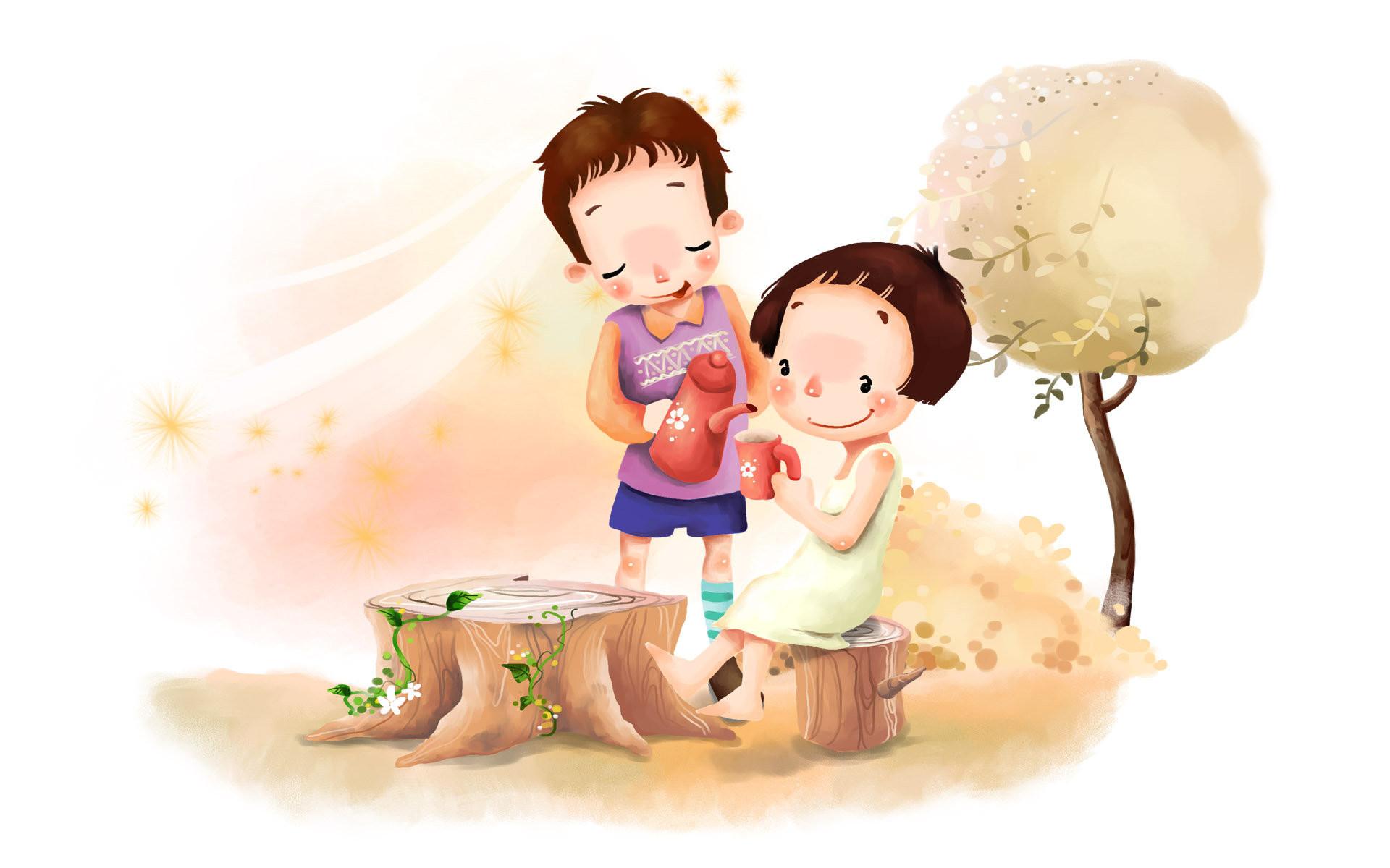 Cute Cartoon Wallpaper   ImageBank.biz