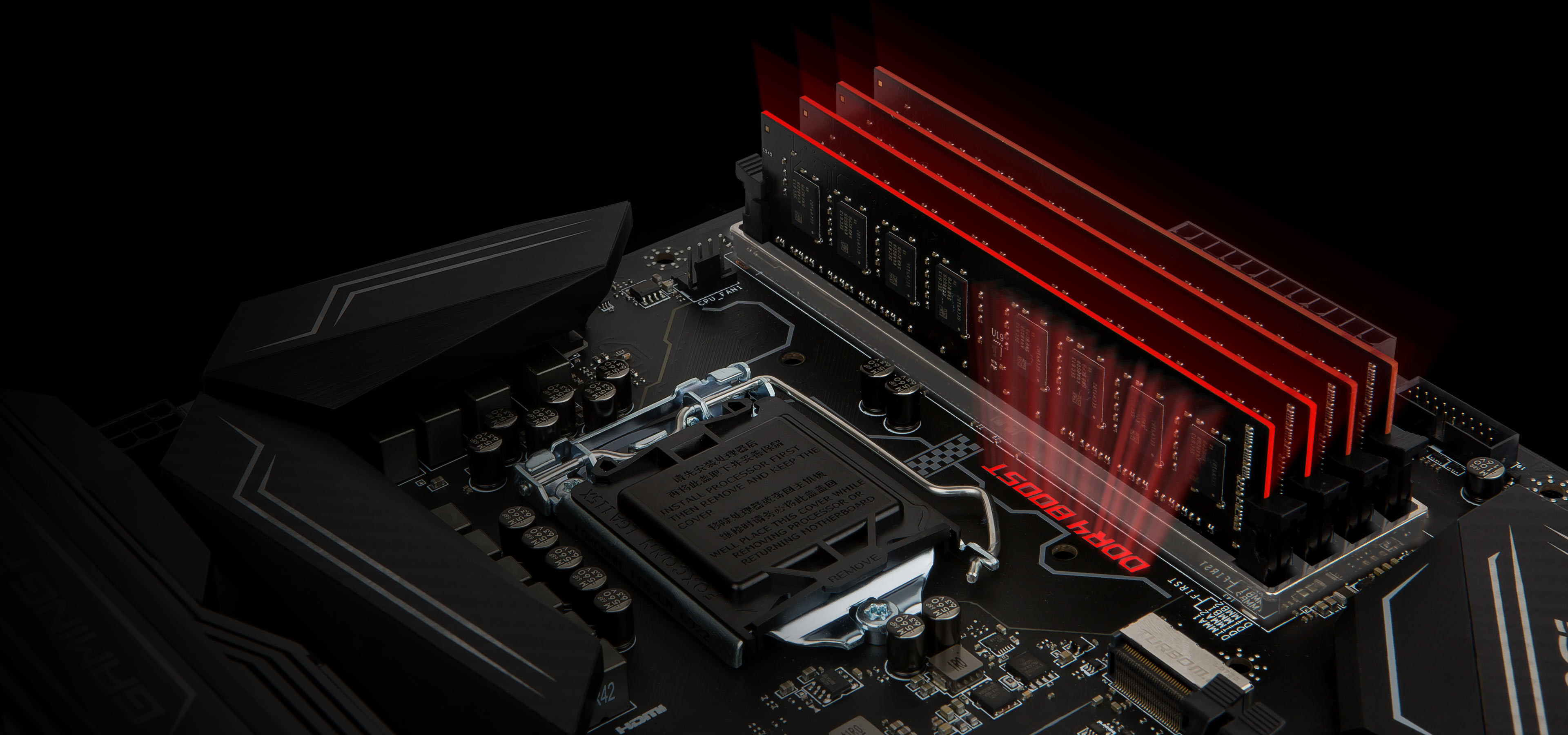 MSI motherboards are crammed with features to fuel your gaming rig's memory  with more speed, higher overclockability and increased stability.