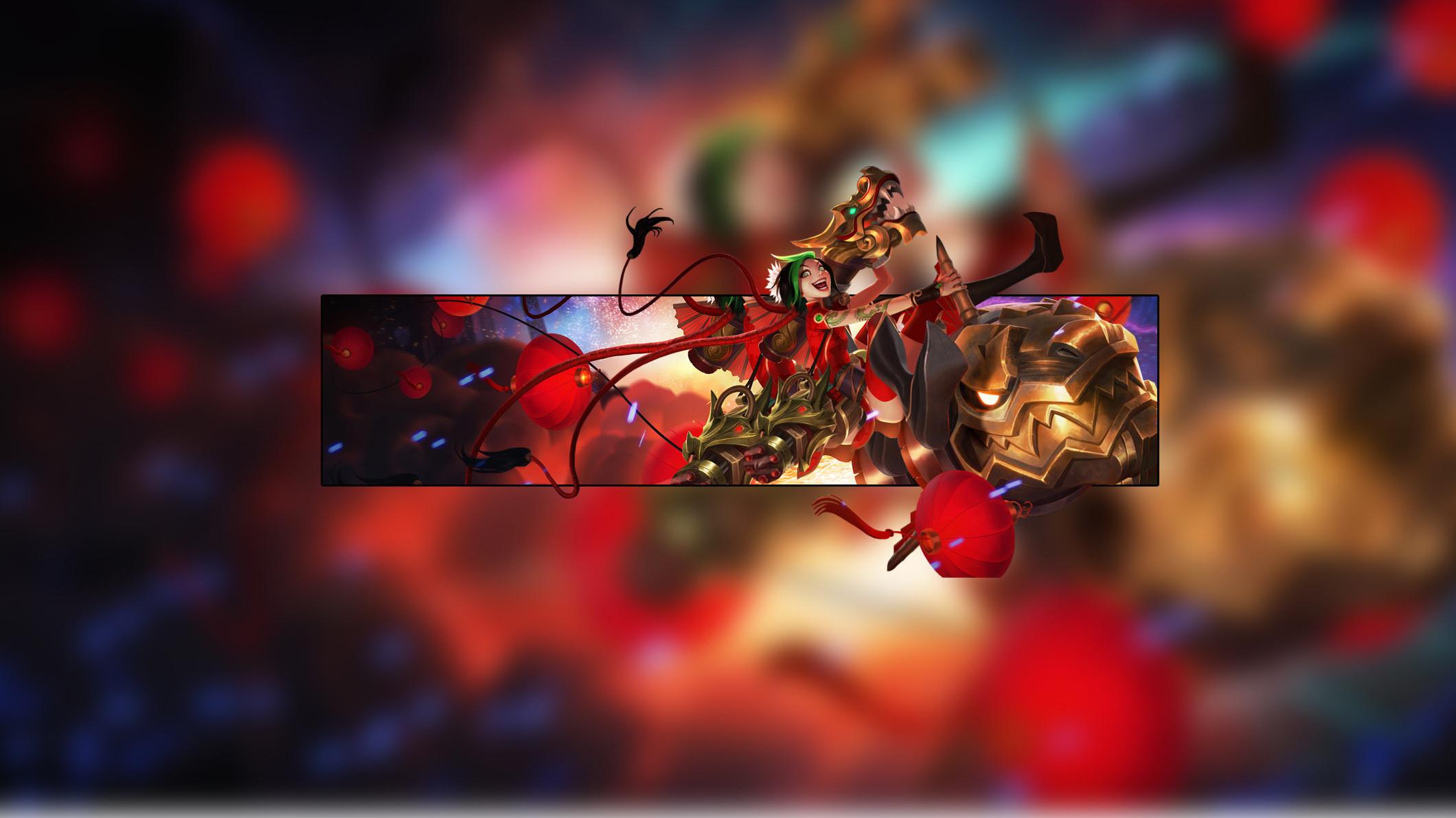 Firecracker Jinx by Insane HD Wallpaper Fan Art Artwork League of Legends  lol